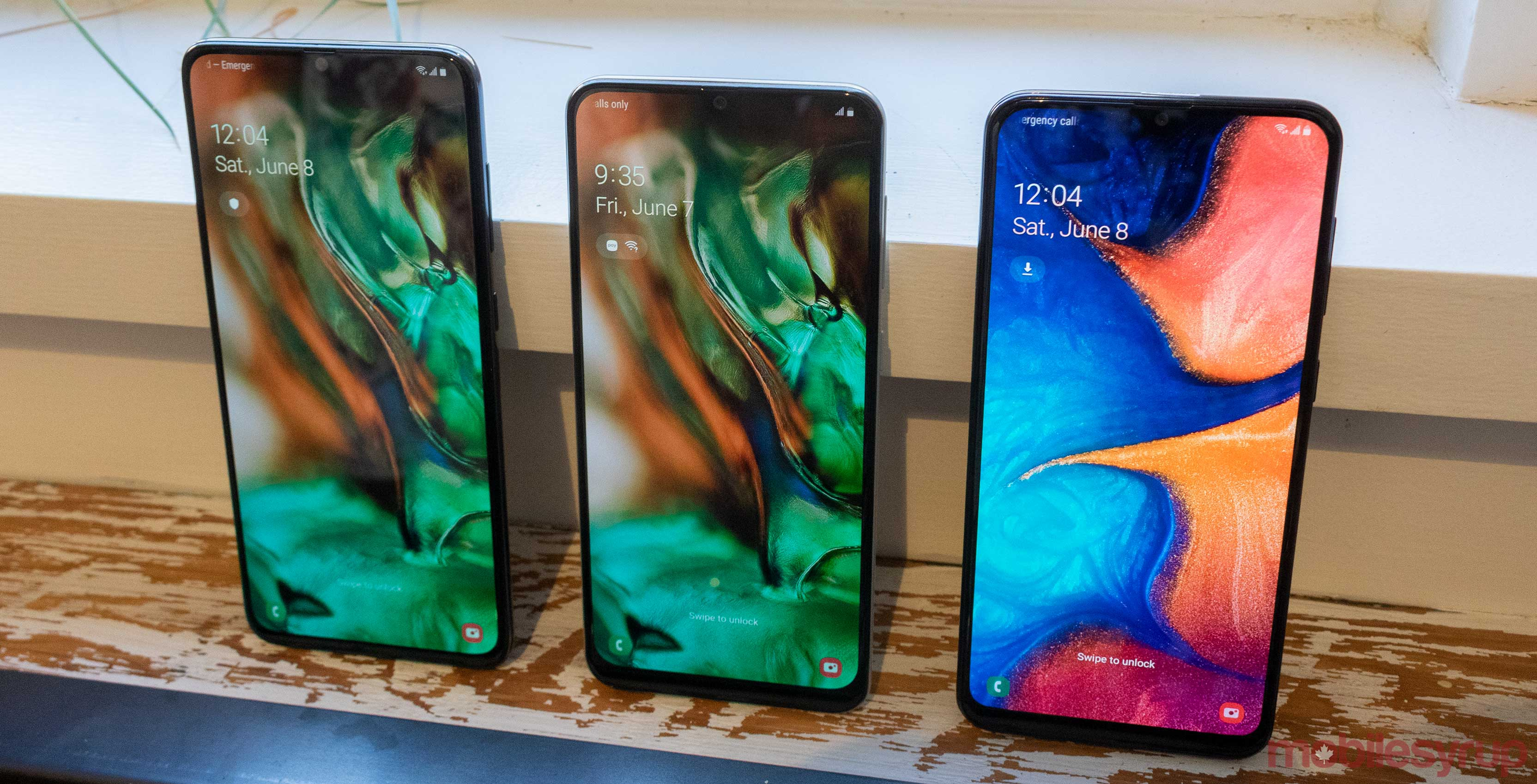 Samsung Galaxy A20, A50 and A70 are now available in Canada