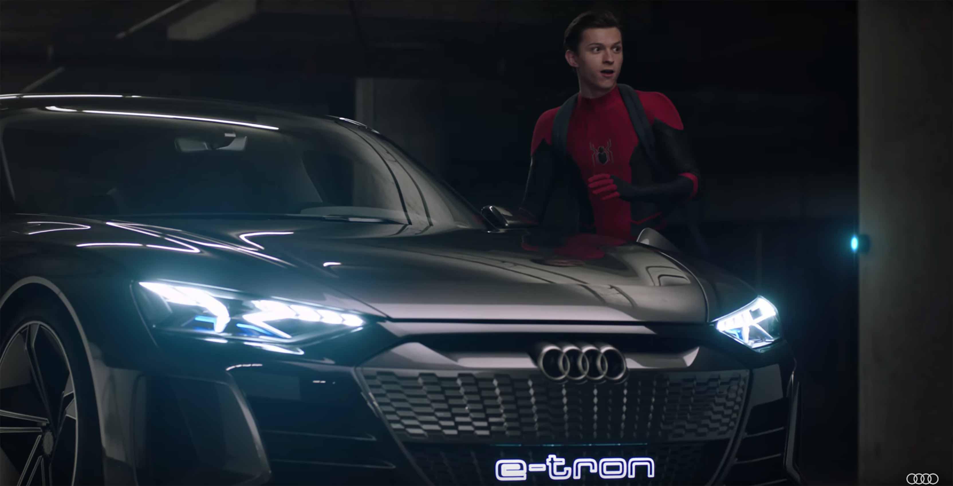 Tom Holland Audi e-tron