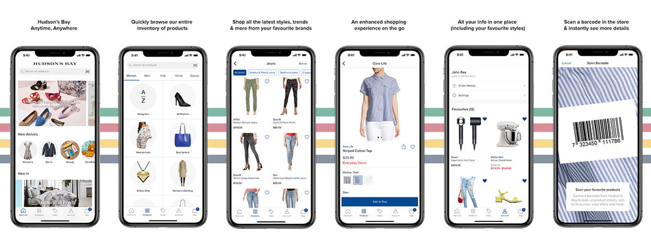 Hudson's Bay releases app to help users shop in store and online