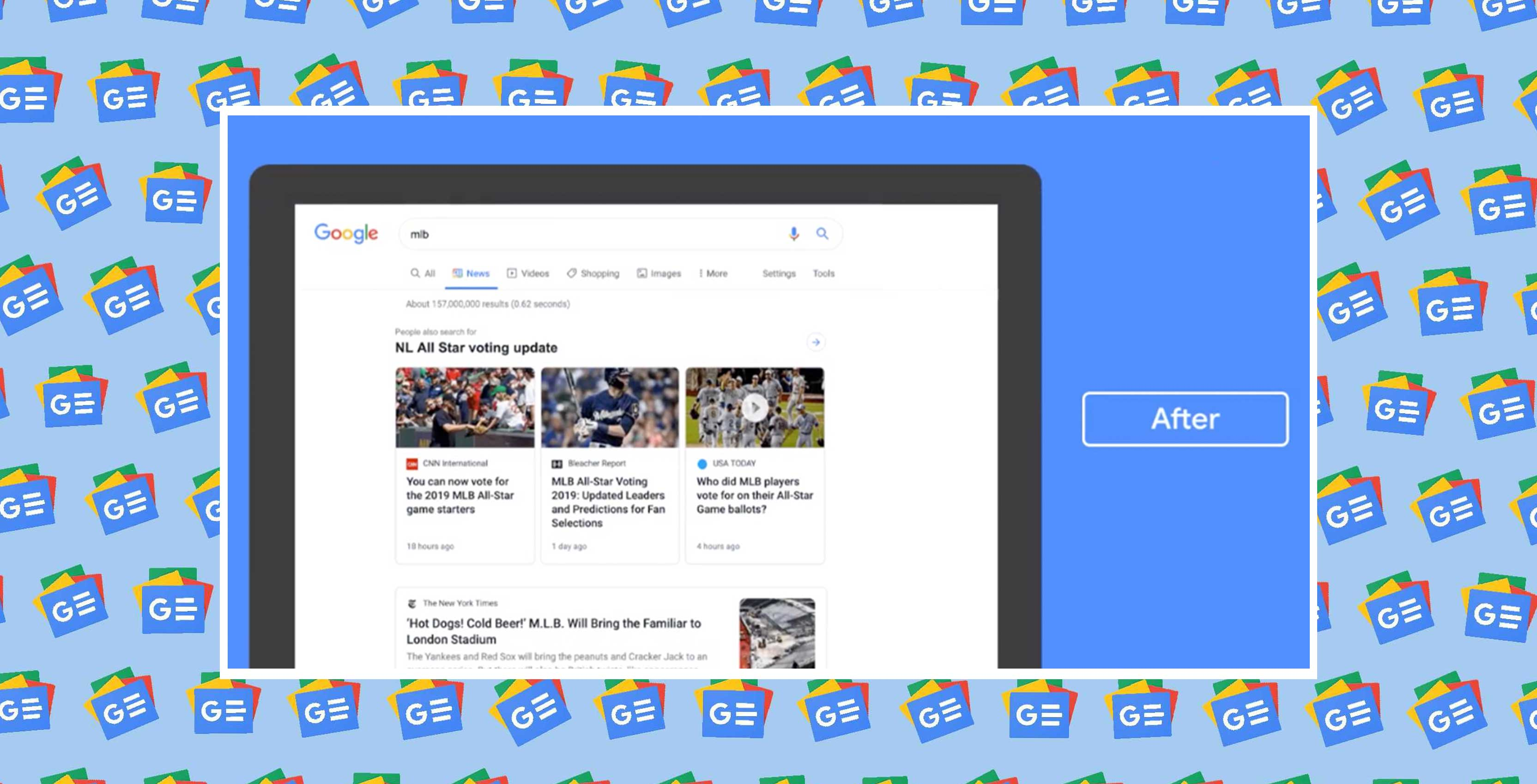 Google redesigns News tab in desktop Search