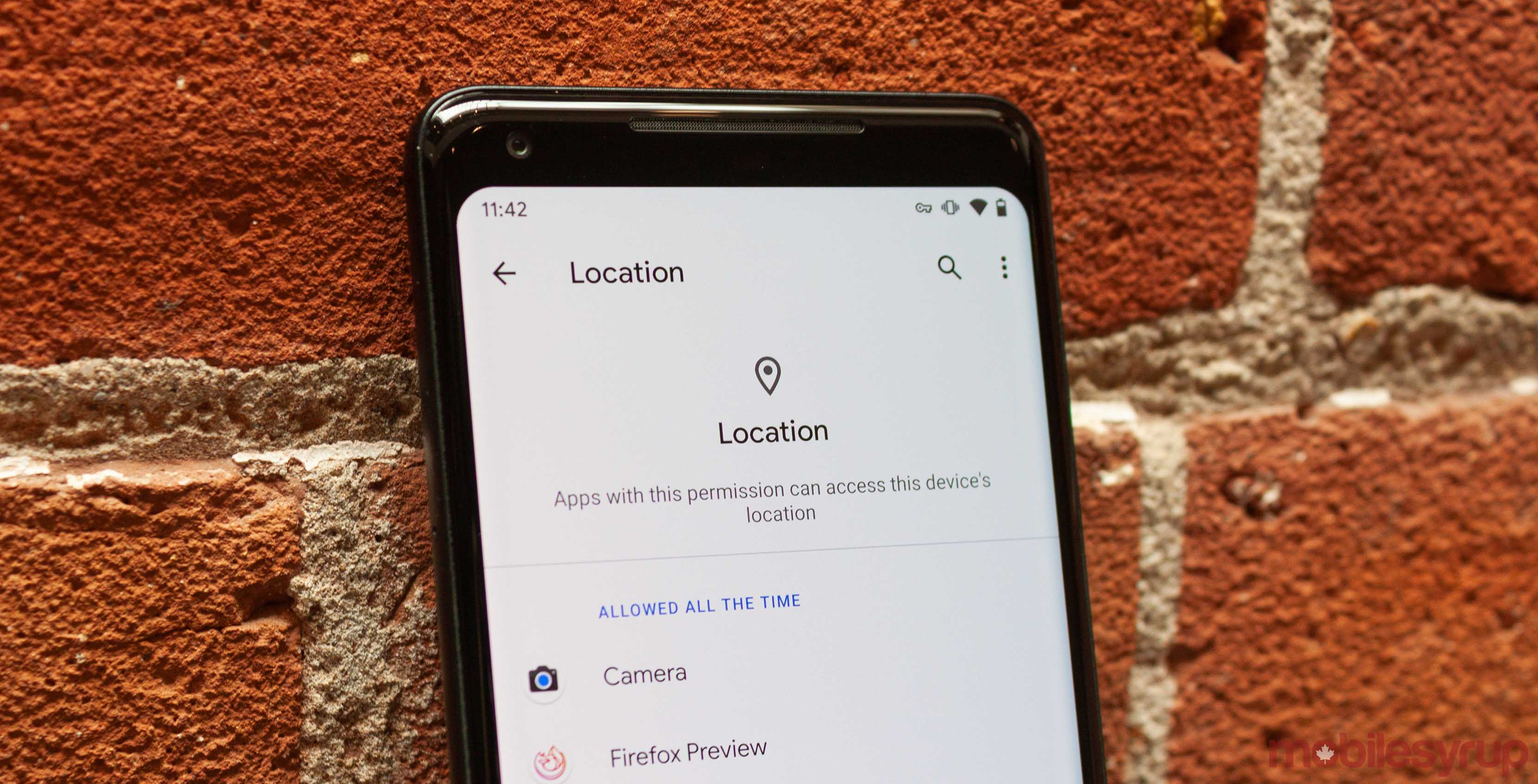 Android Q Beta 5 grants every app full location access to prep for