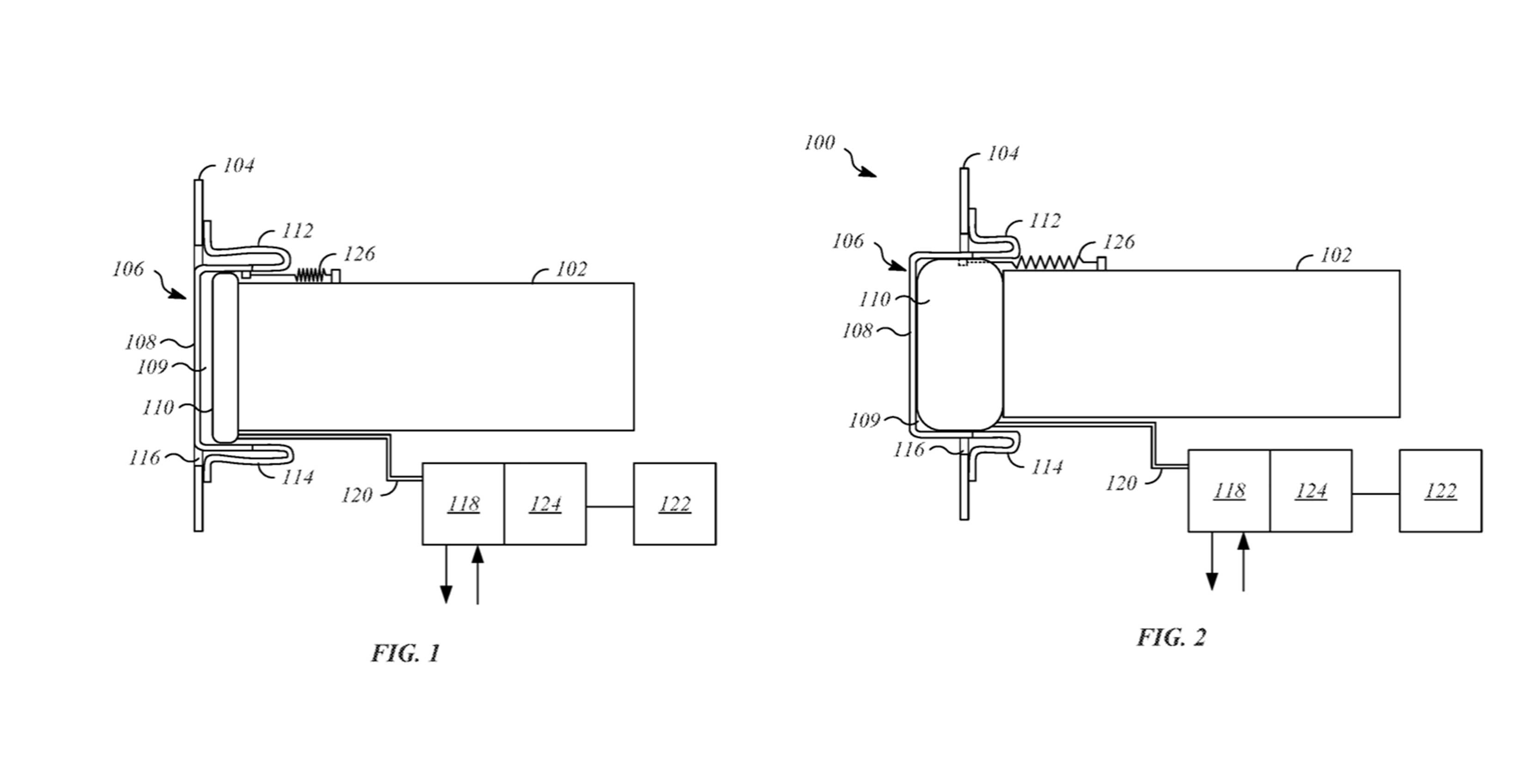 Apple car patent shows retractable bumper design