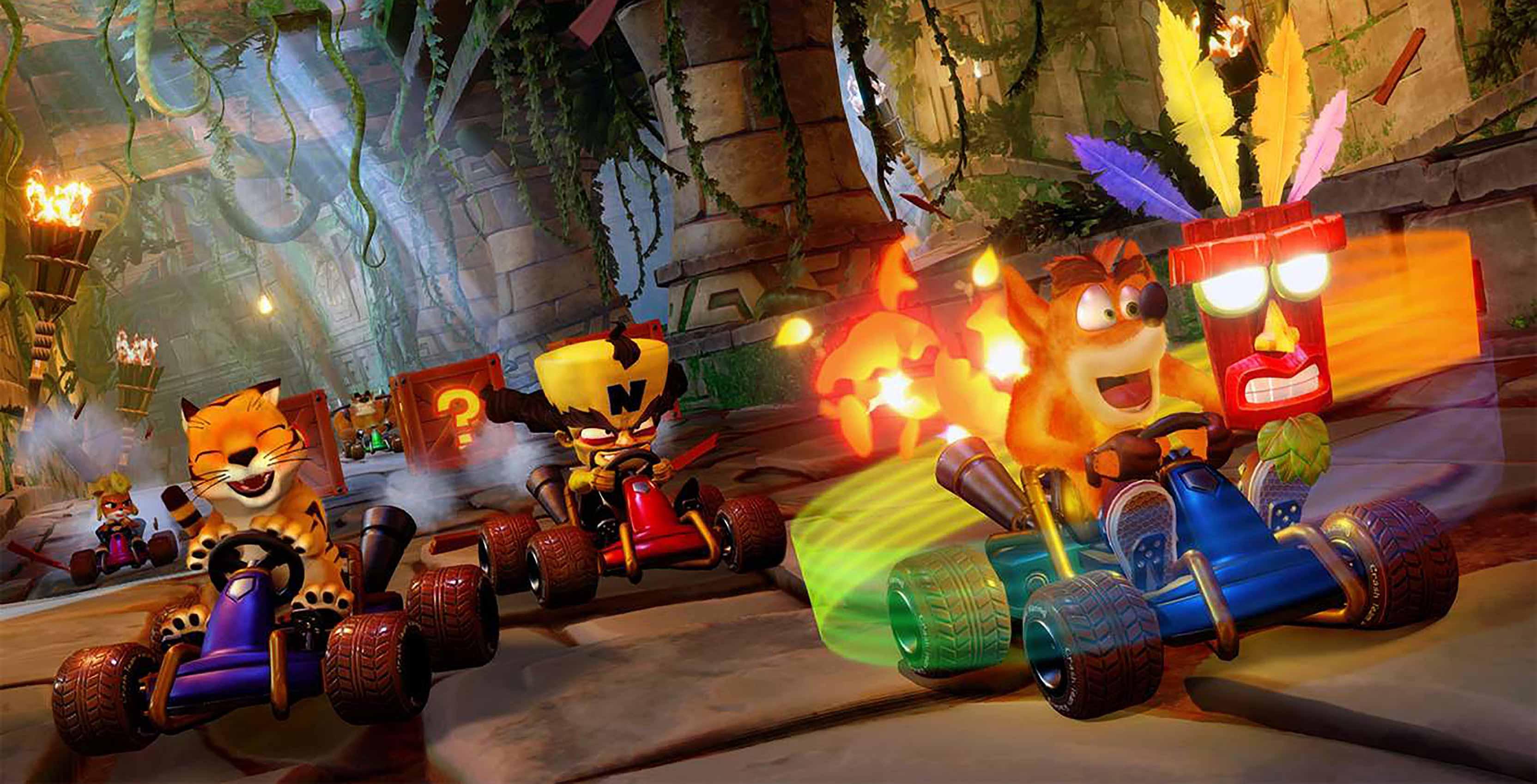 Crash Team Racing Nitro-Fueled Crash