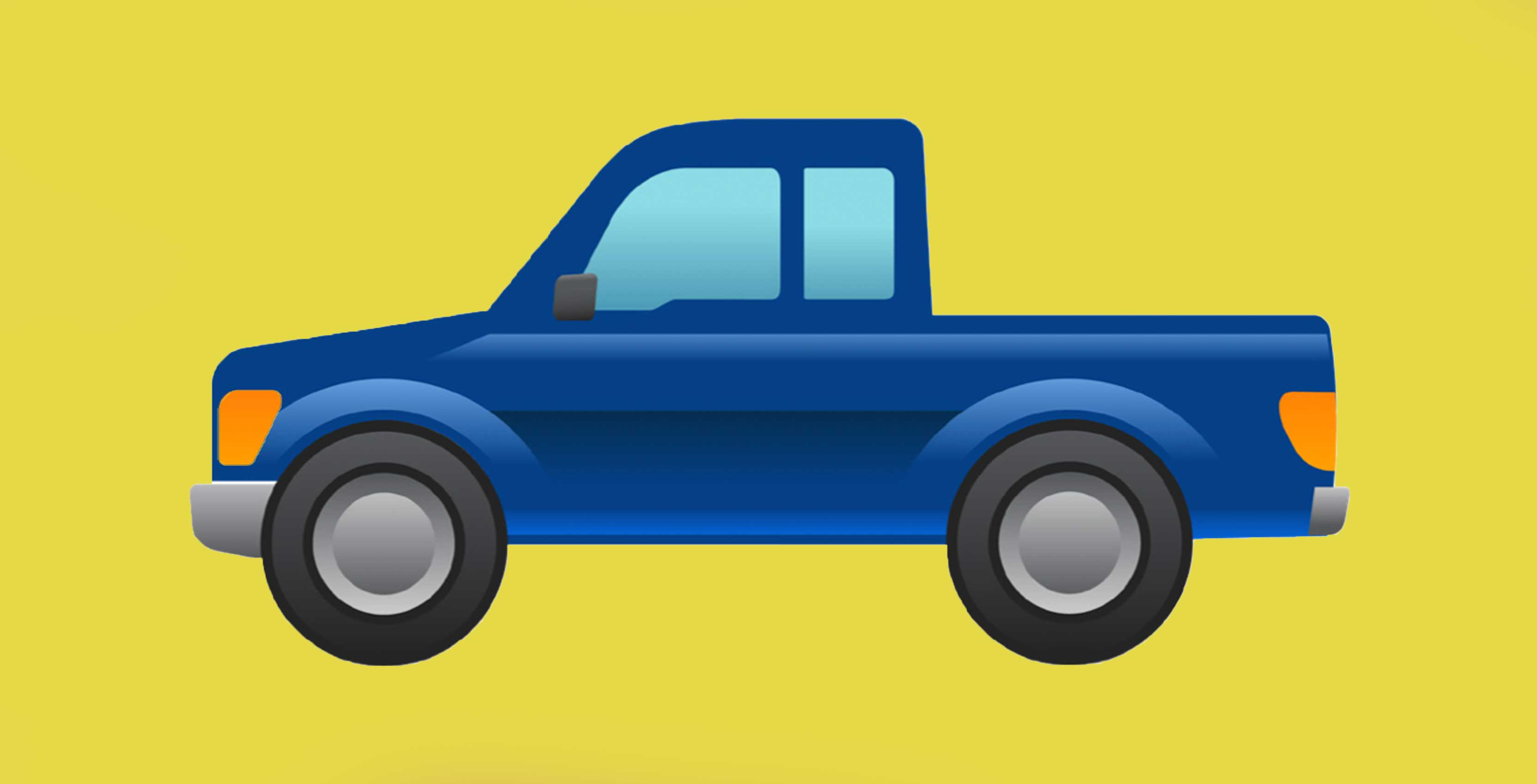 Ford secretly petitions for a pickup truck emoji
