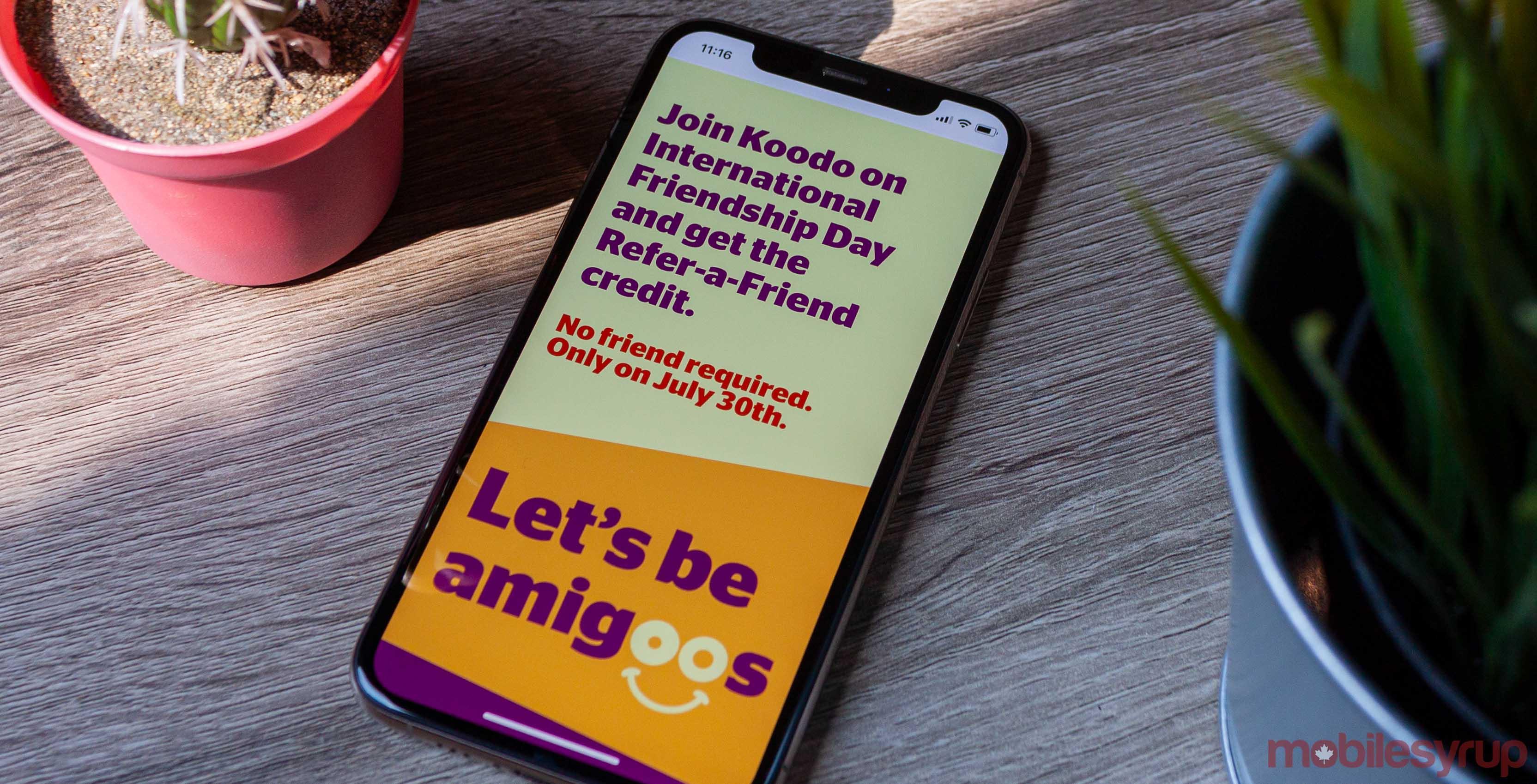 Koodo international friendship day