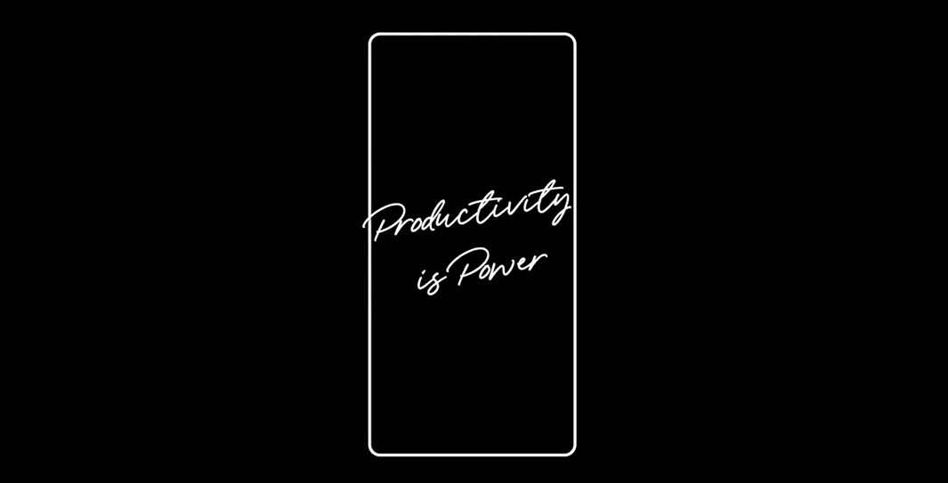 Productivity is Power