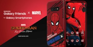 Spider-Man: Far From Home Samsung cases