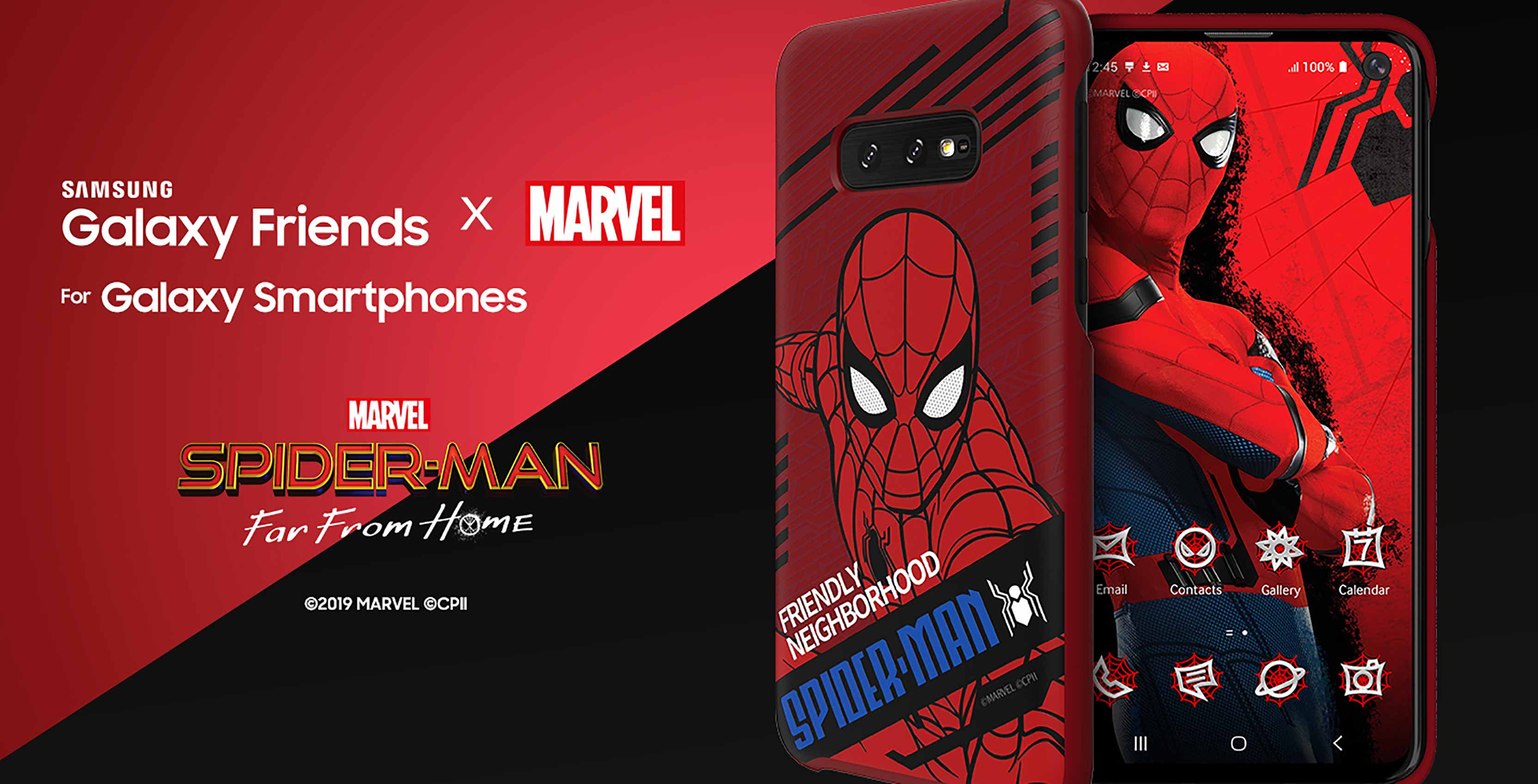 Samsung Launches Spider Man Far From Home Galaxy Smart