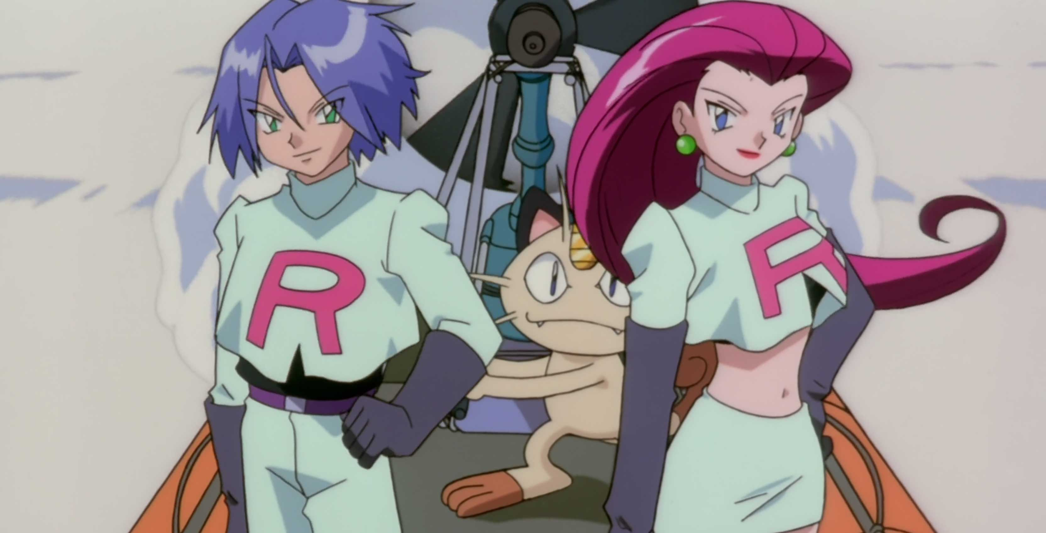 Pokémon Team Rocket Jessie and James