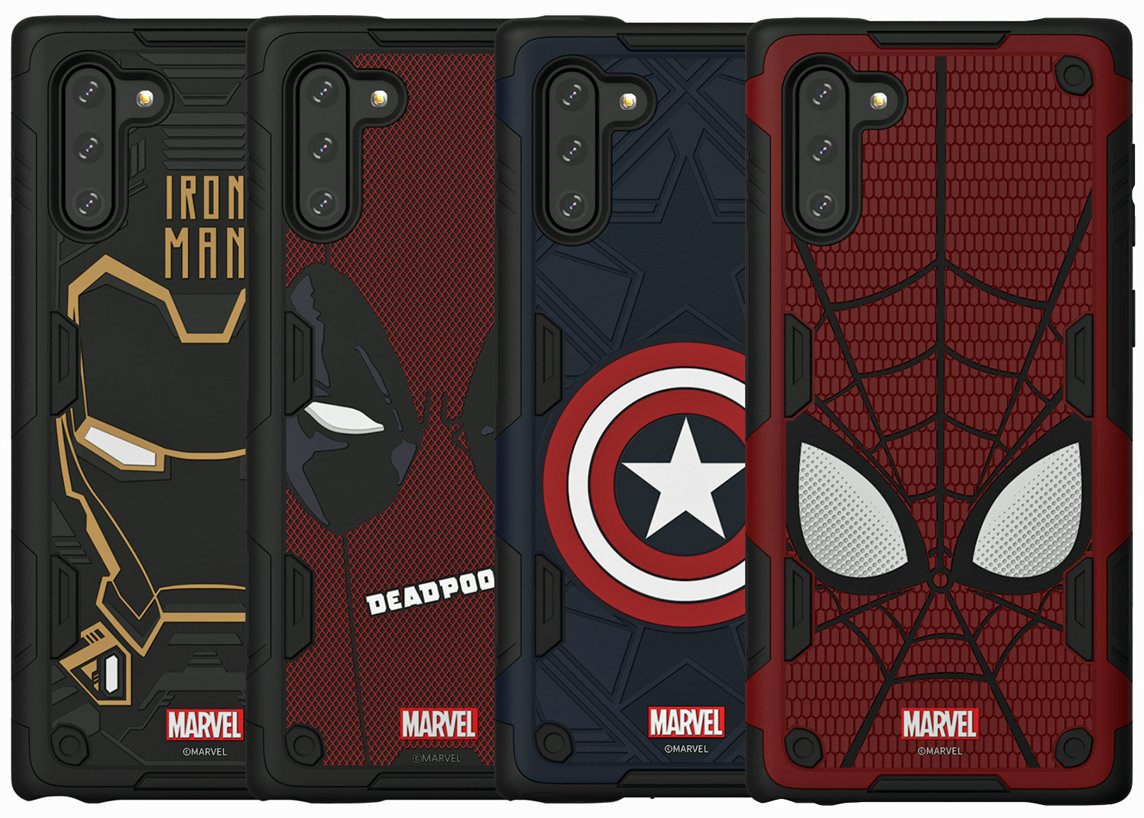 Marvel Smart Covers Note 10