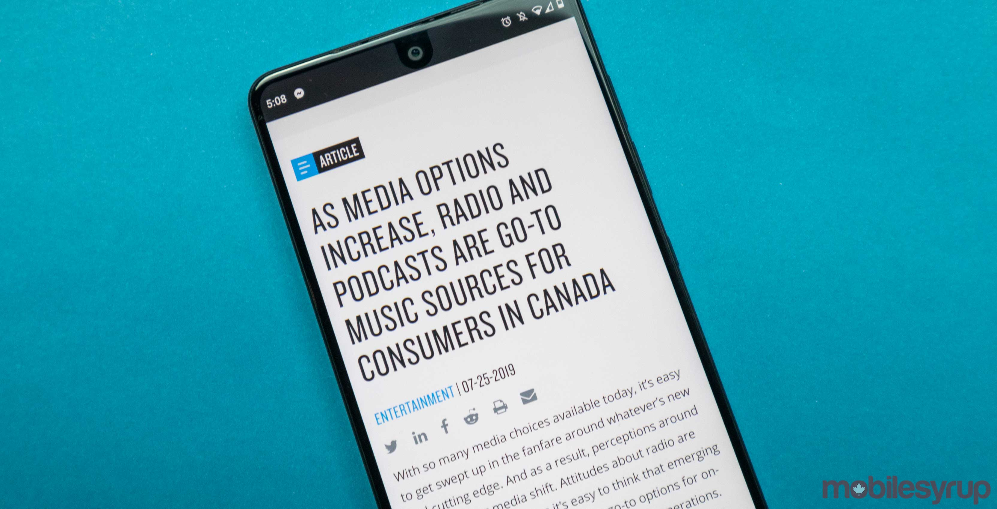 Canadians listen to radio and podcasts more than streaming services