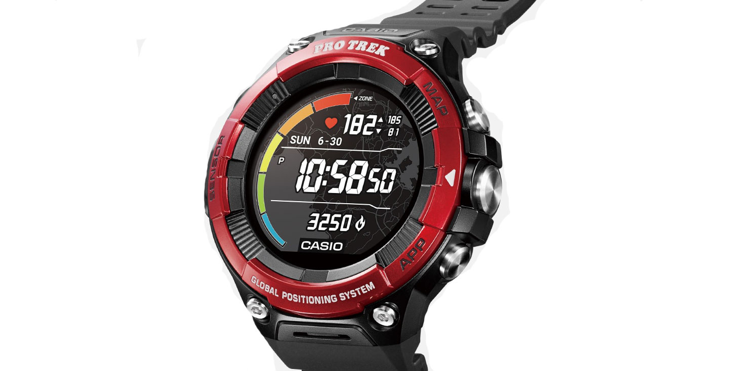 Casio adds a heart rate sensor to its new Wear OS smartwatch