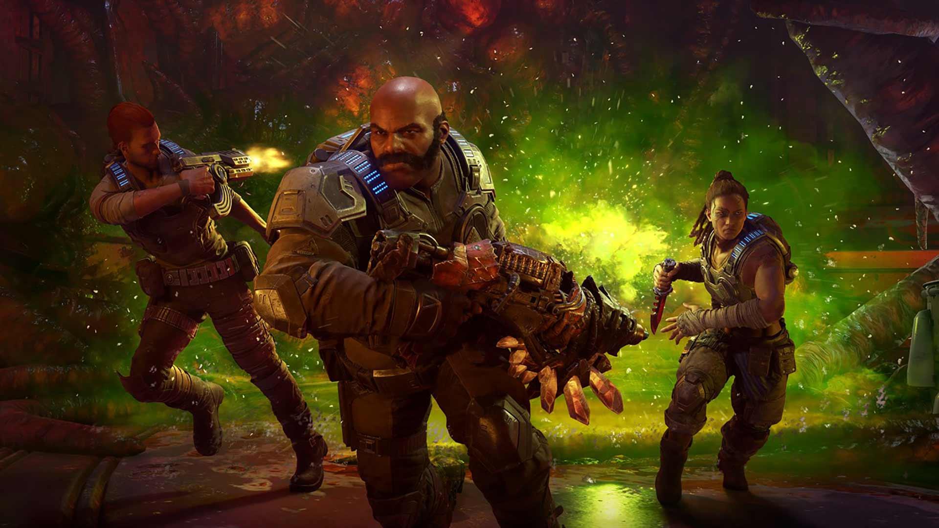 Gears 5 Escape Mode