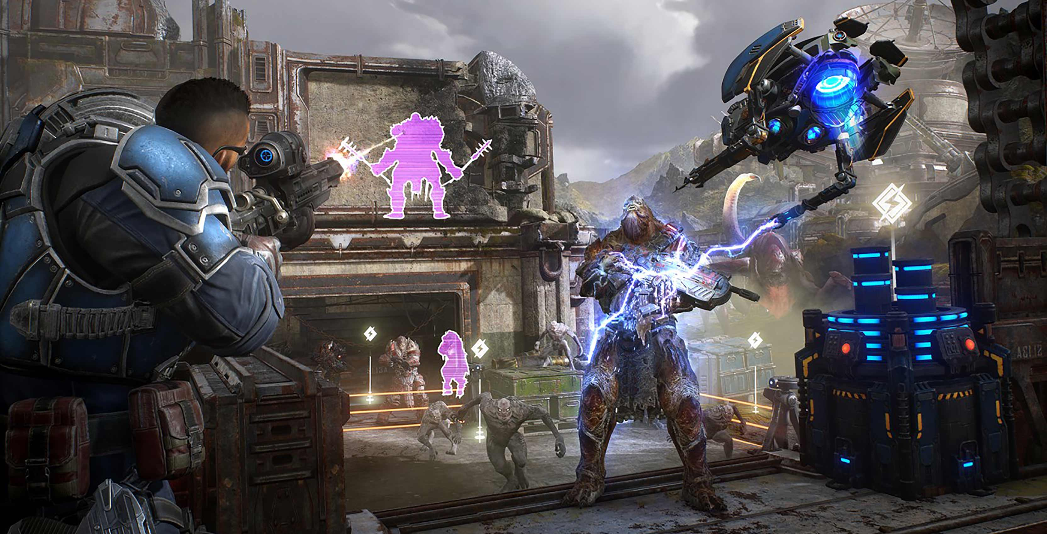 Gears 5 multiplayer director talks evolving Horde Mode, Halo: Reach crossover