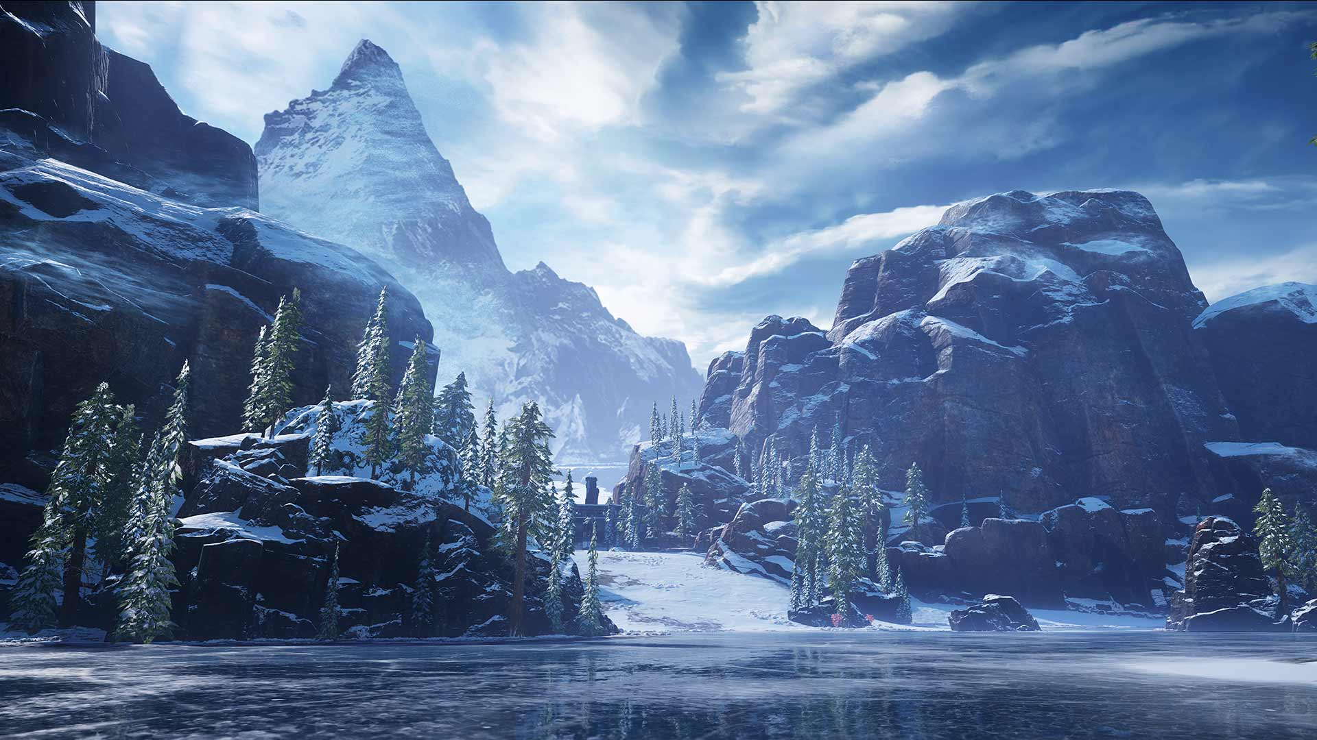 Gears 5 ice area