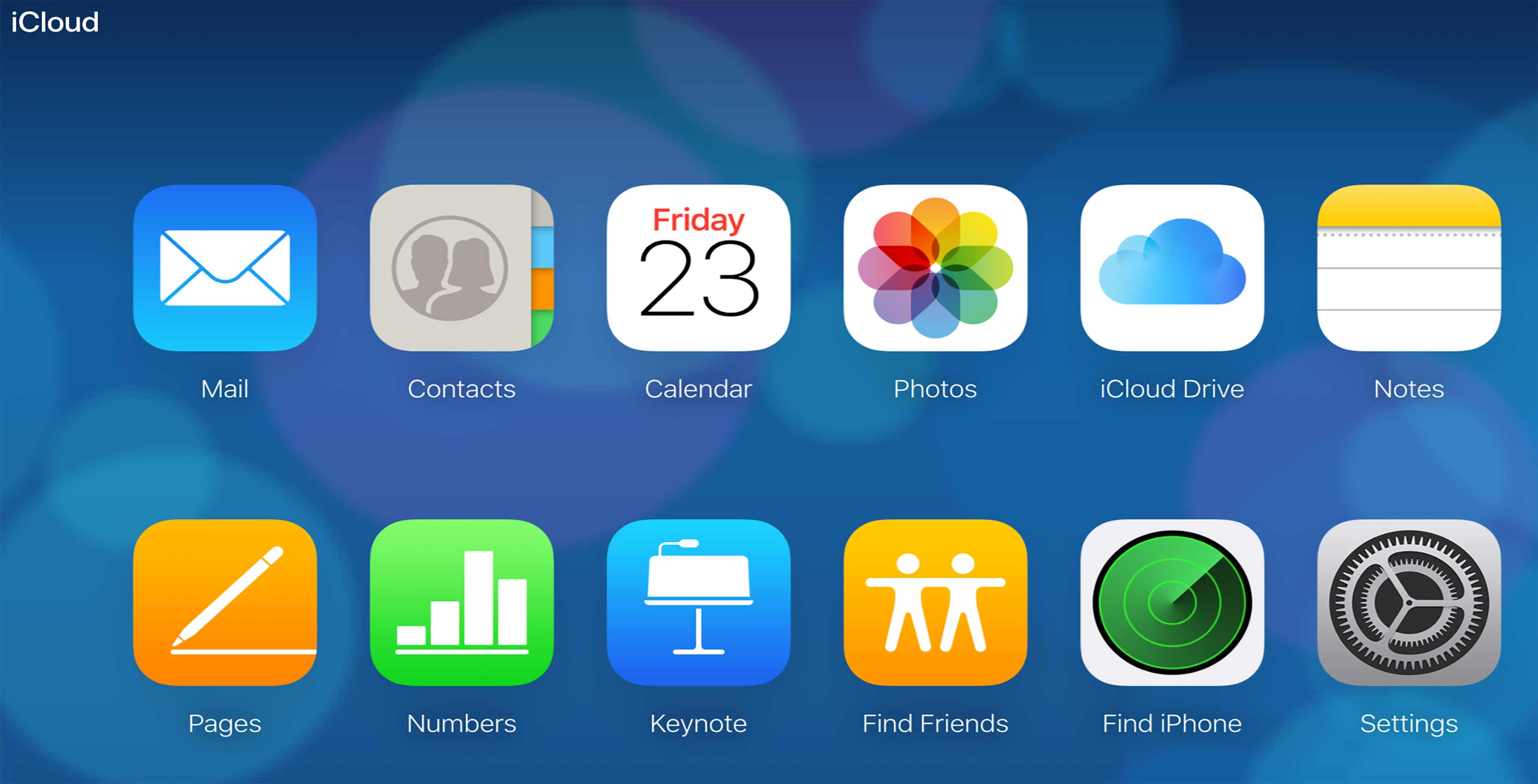Apple introduces redesigned iCloud interface on the web in beta
