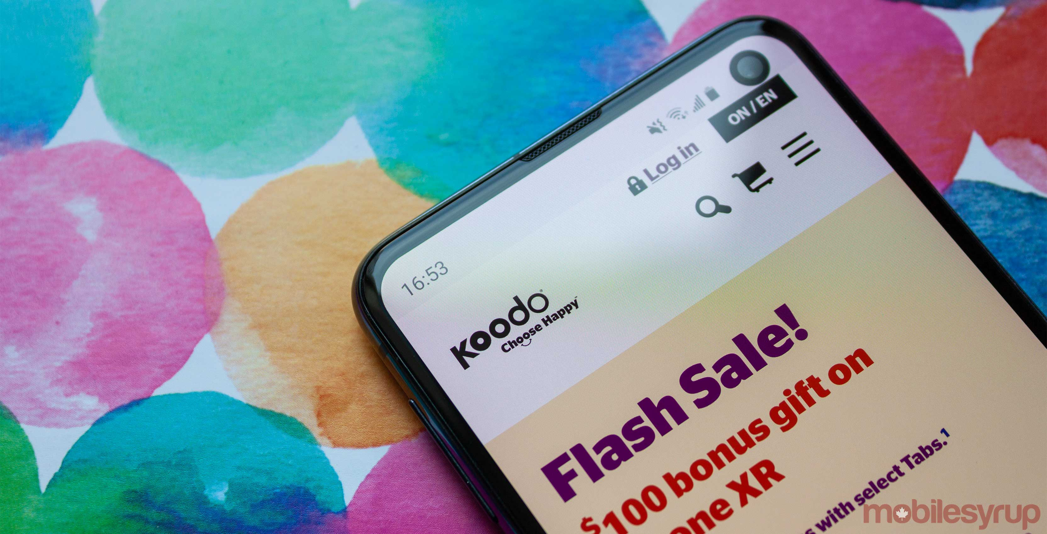 Koodo charges 'phone credit' and remaining Tab balance if