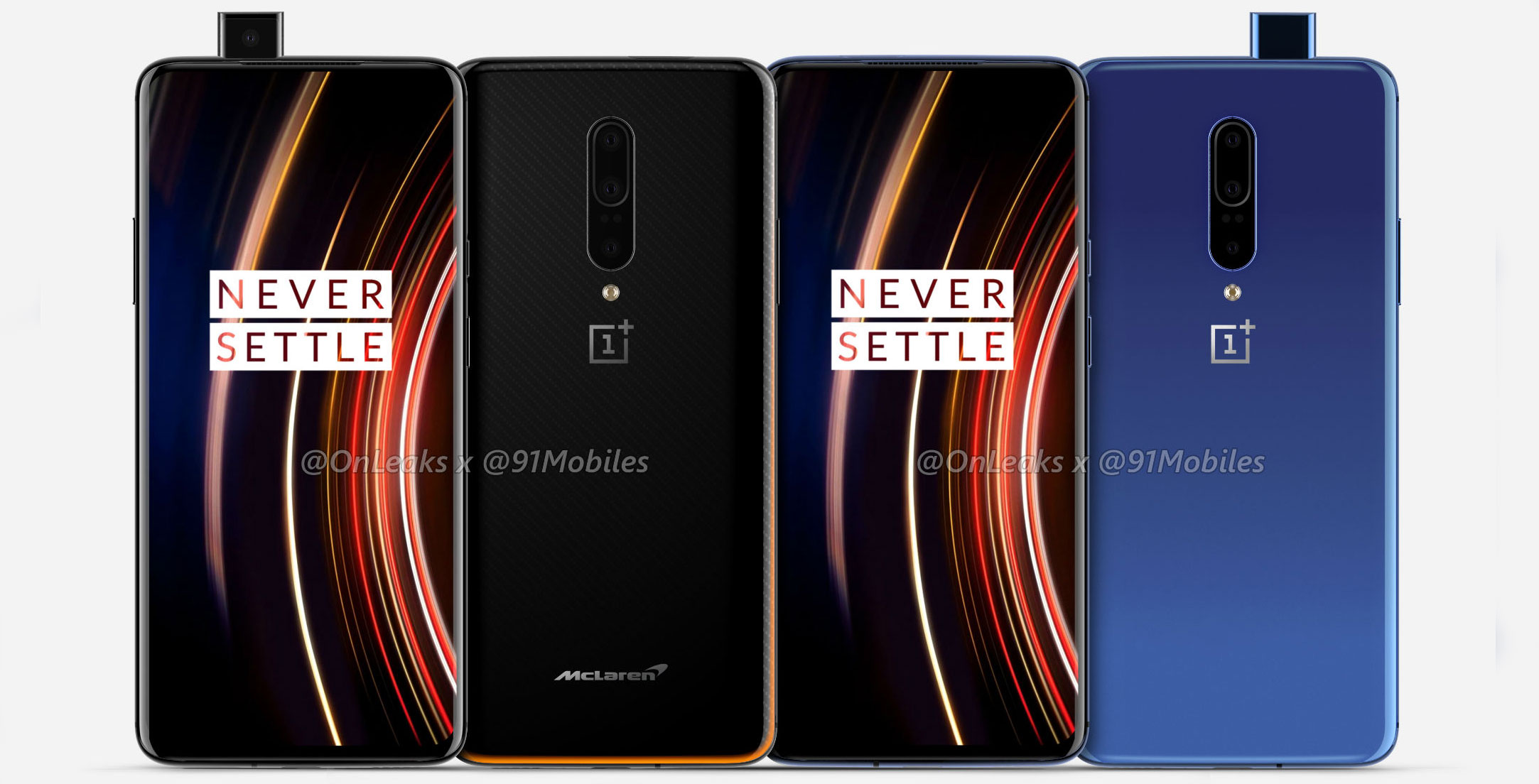 Here are the Google Pixel 4, Huawei Mate 30 and OnePlus 7T