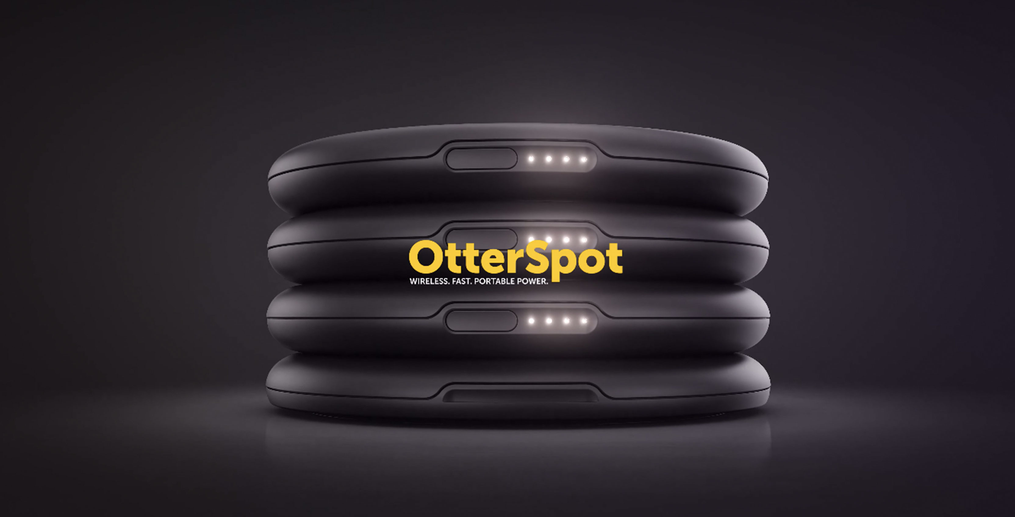 Build a battery tower with OtterBox's stackable wireless