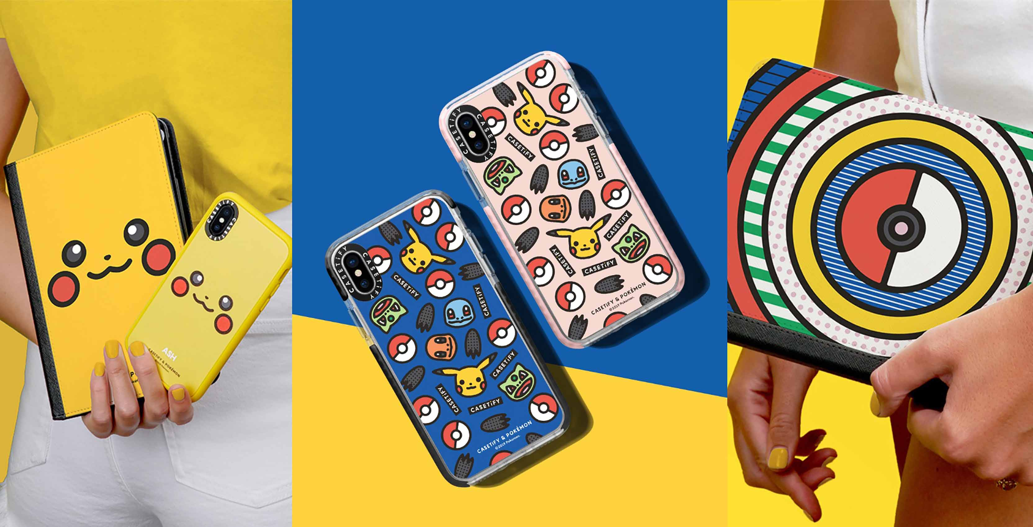 Casetify launches new Pokémon-themed iPhone, iPad and Mac accessories