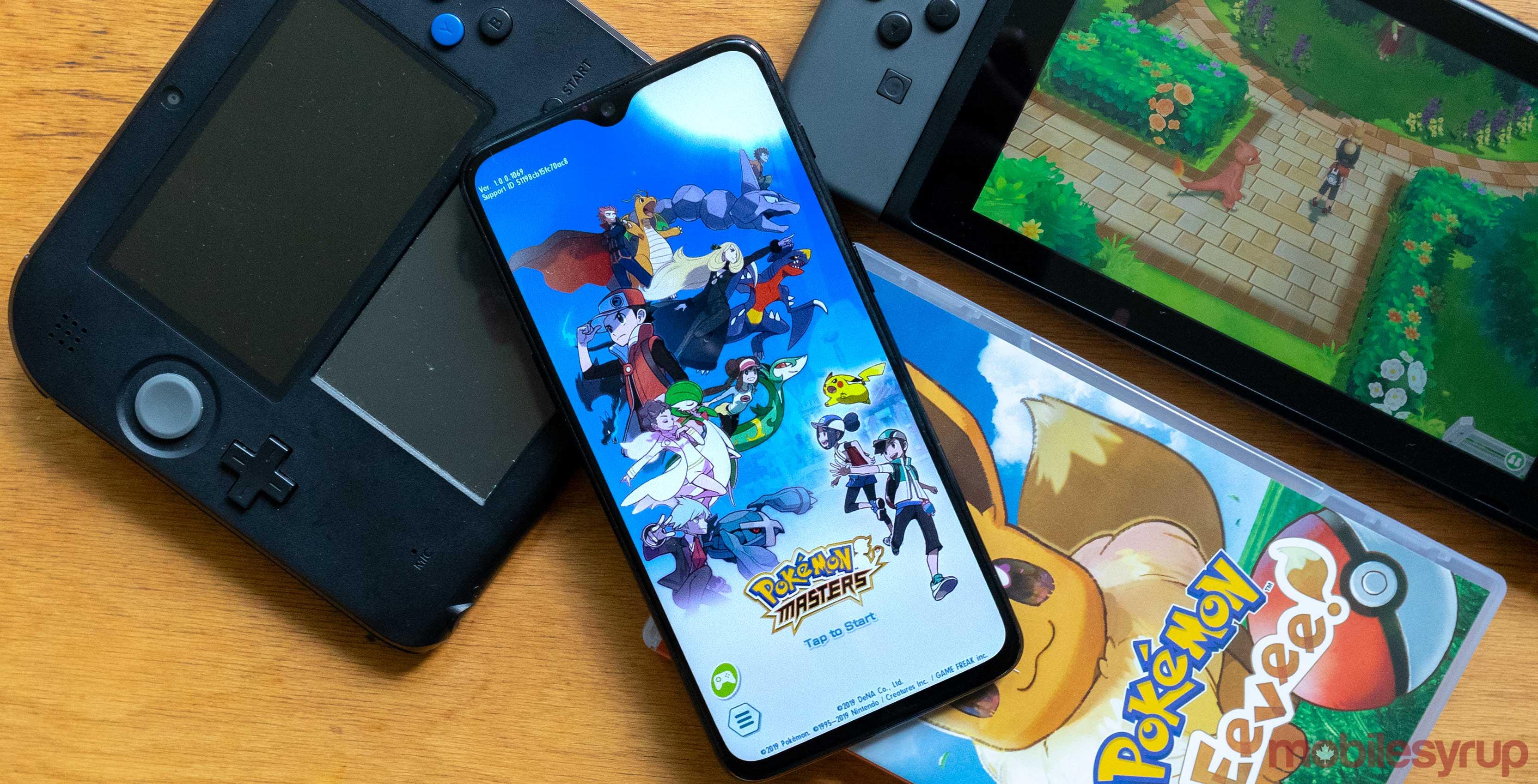 Pokémon Masters helps scratch that Pokémon itch until Sword and