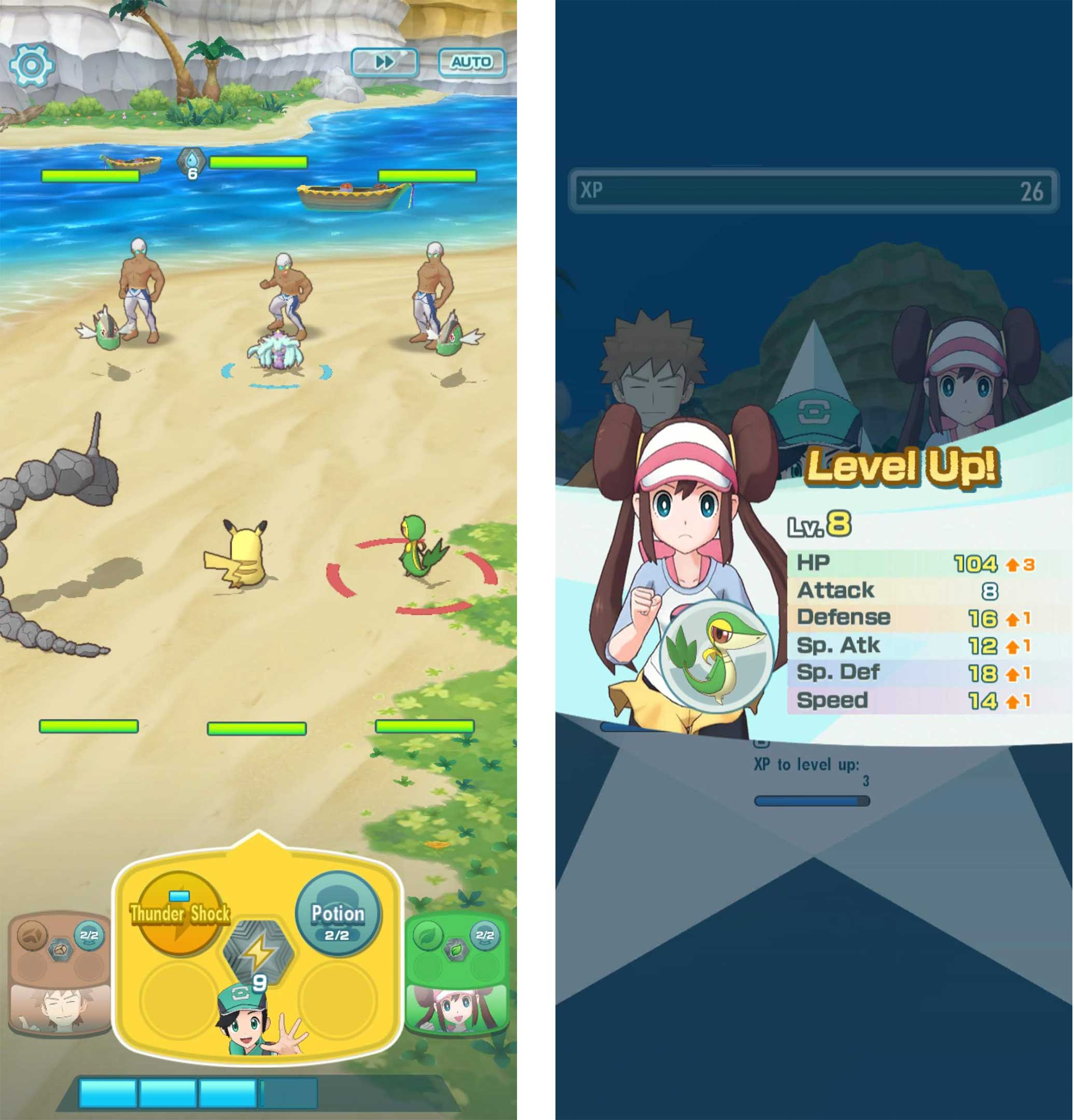 Pokémon Masters helps scratch that Pokémon itch until Sword