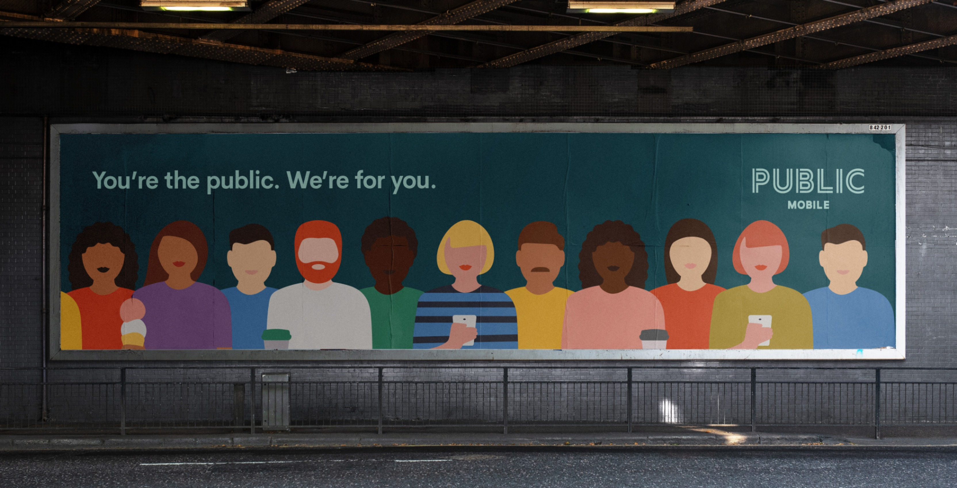 Public Mobile rebrands its visual identity to better represent customers