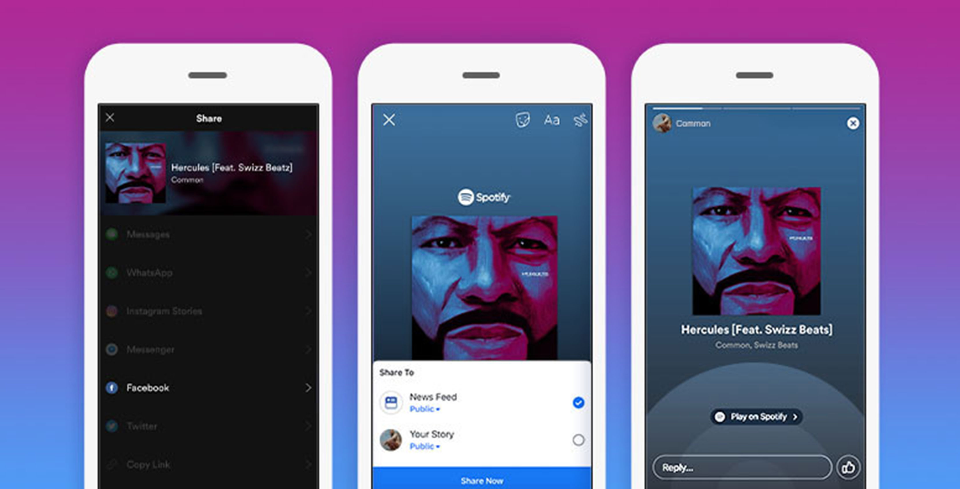 You can now add Spotify songs to your Facebook Story