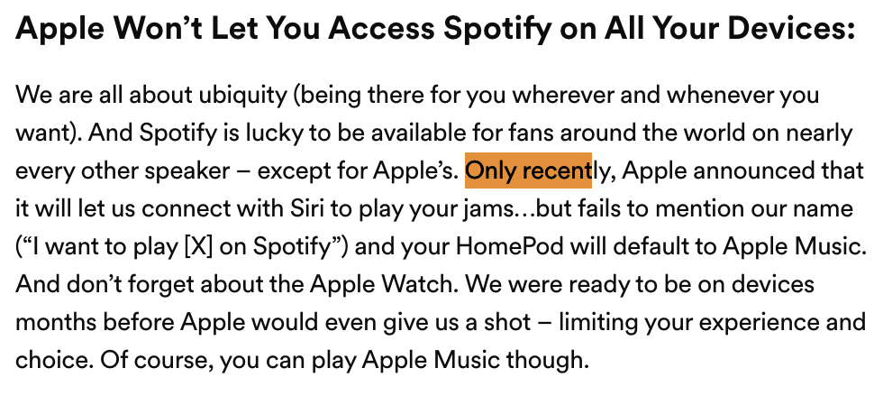 You might soon be able to use Siri to control Spotify