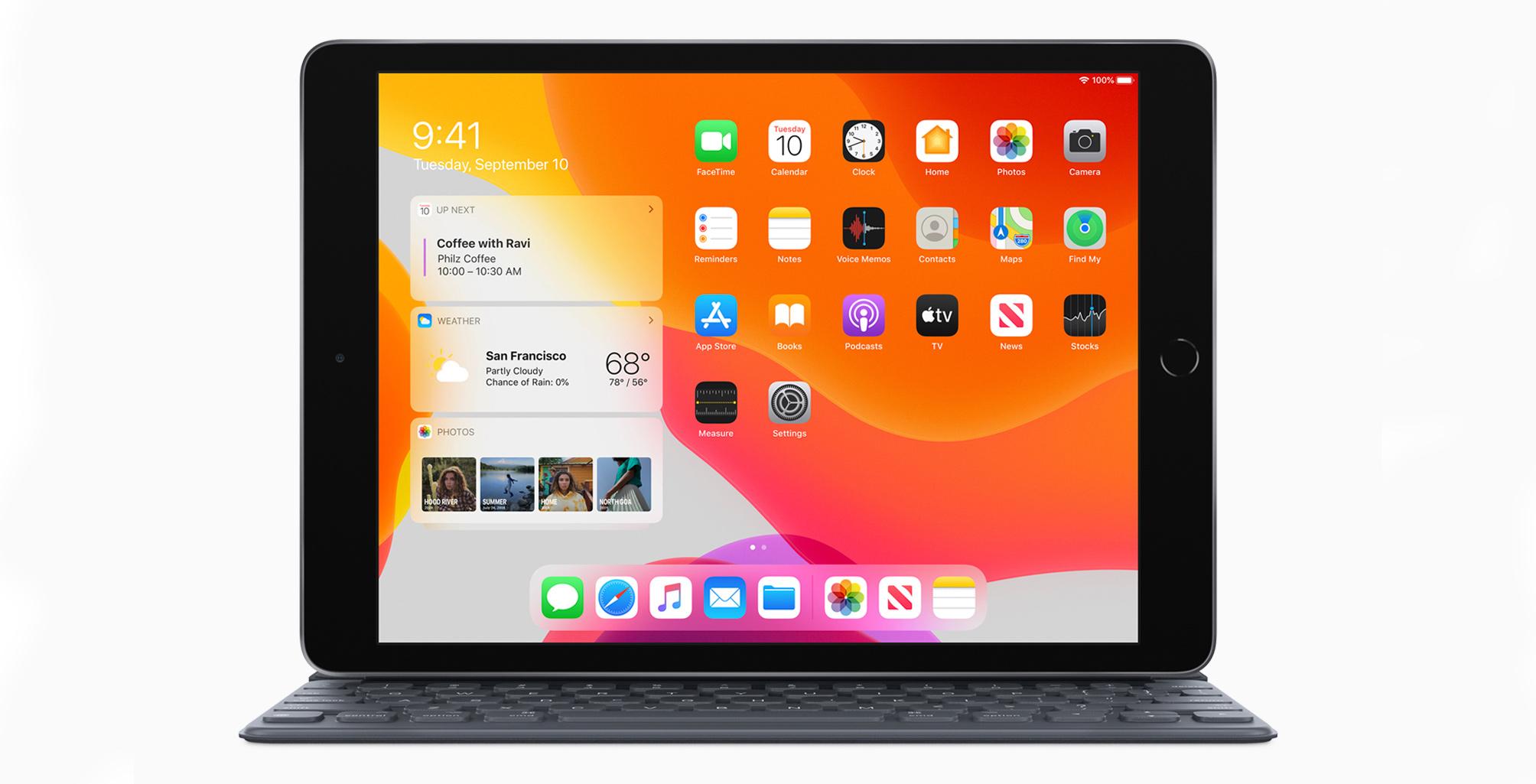 10.7-inch iPad