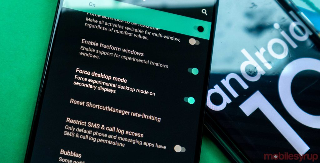 The Essential Phone and OnePlus 7 Pro have desktop modes in