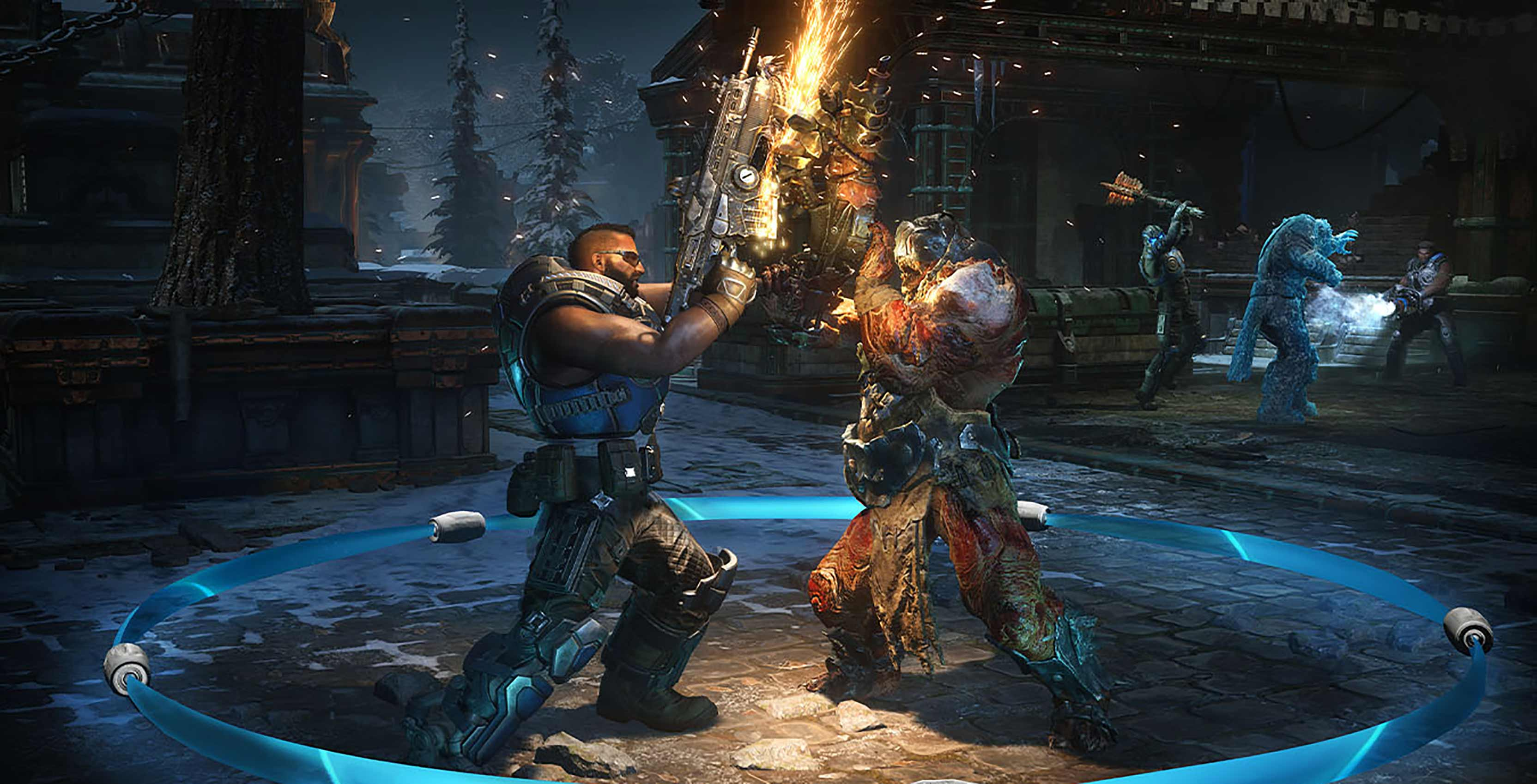 Gears 5 chainsaw duel