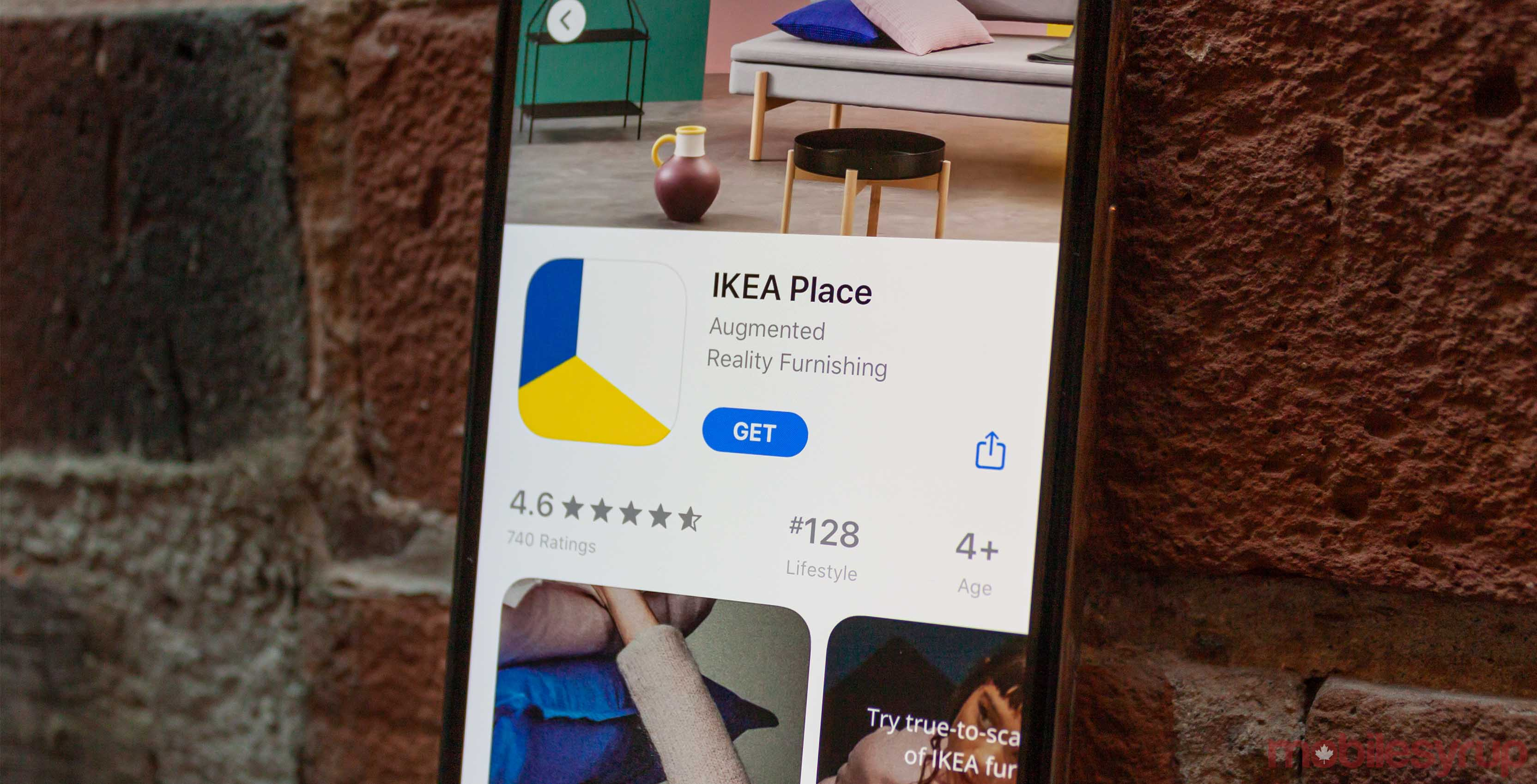 Ikea Place header