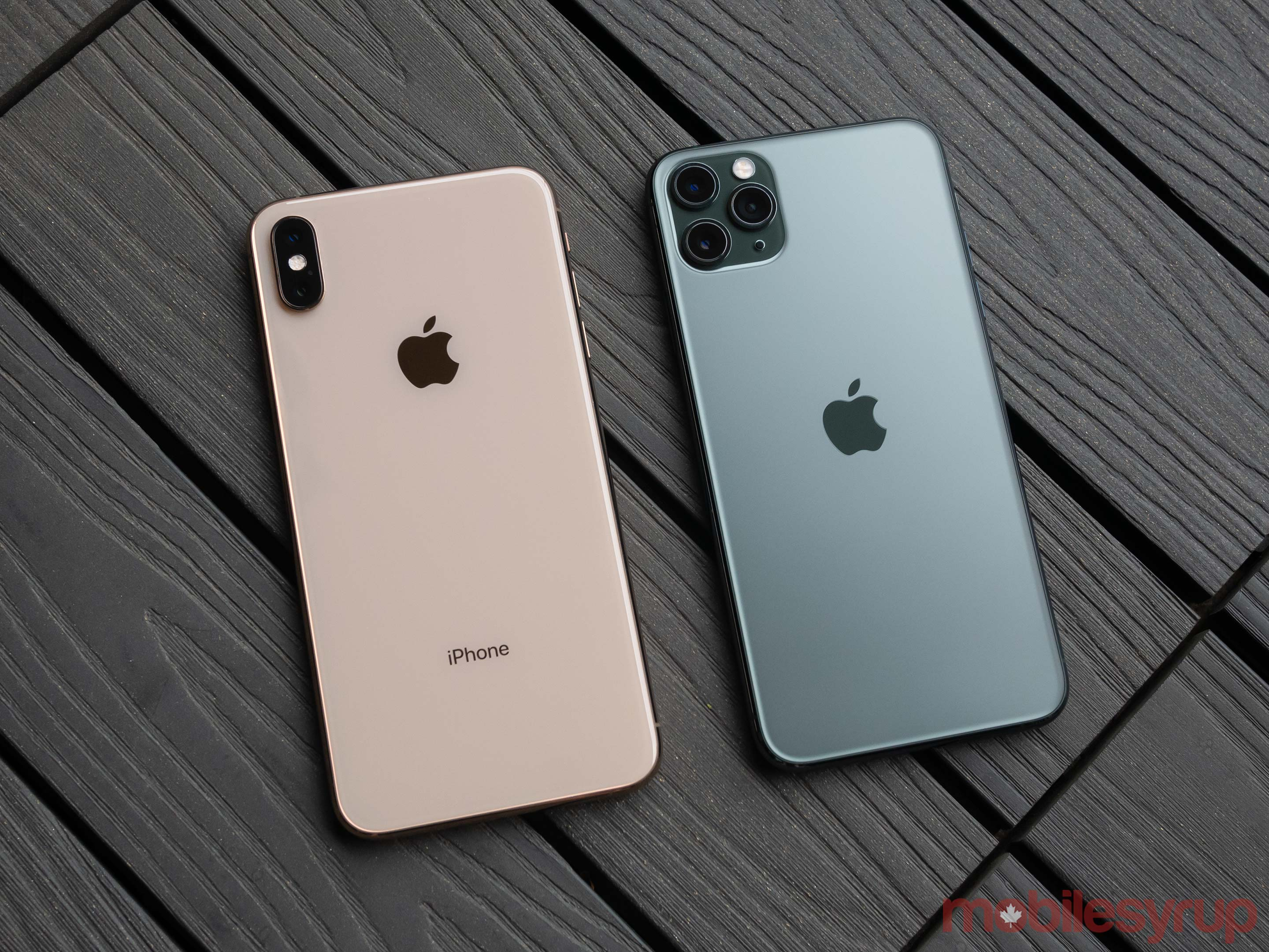 iPhone 11 Pro Max vs iPhone XS Max