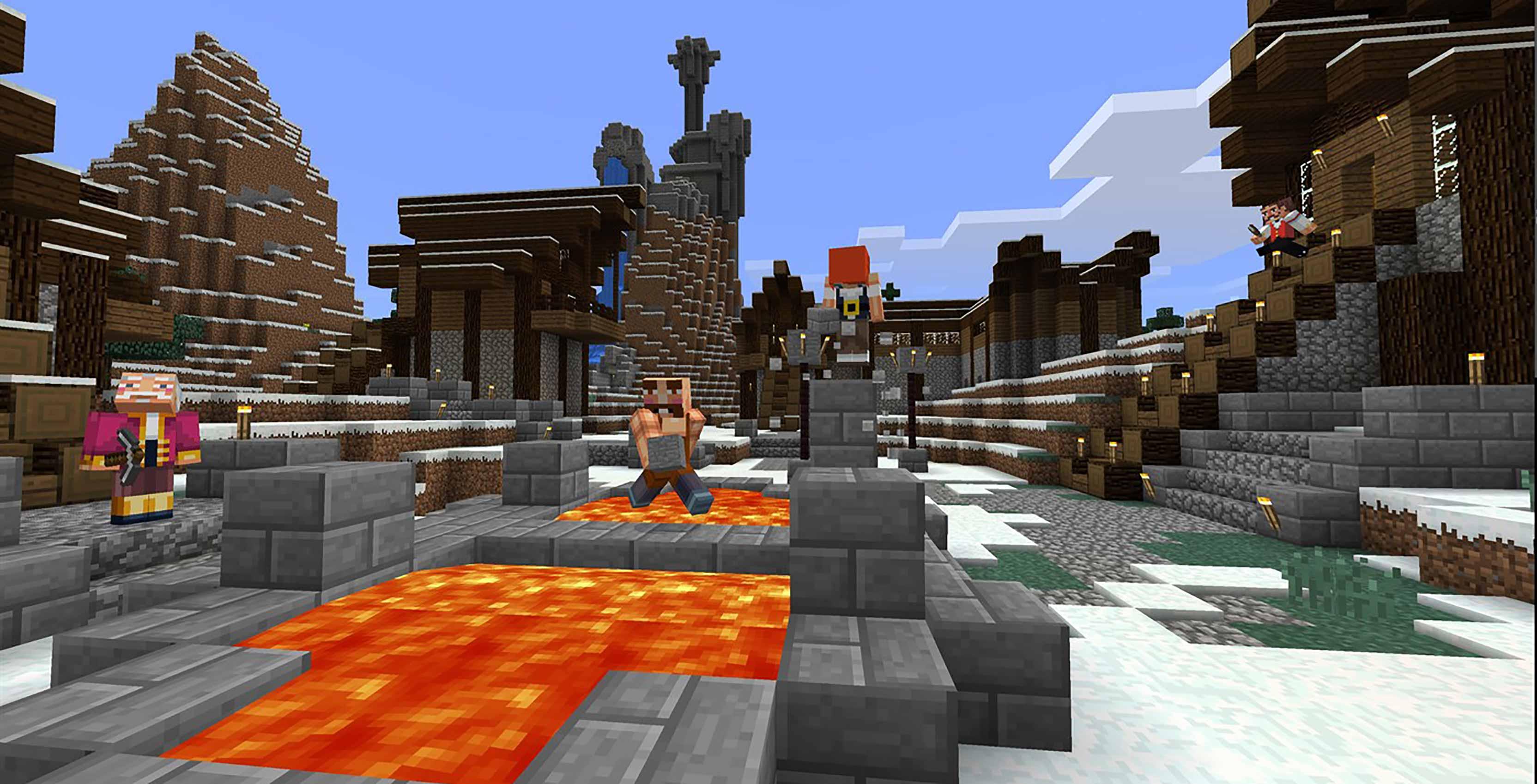 Minecraft lava