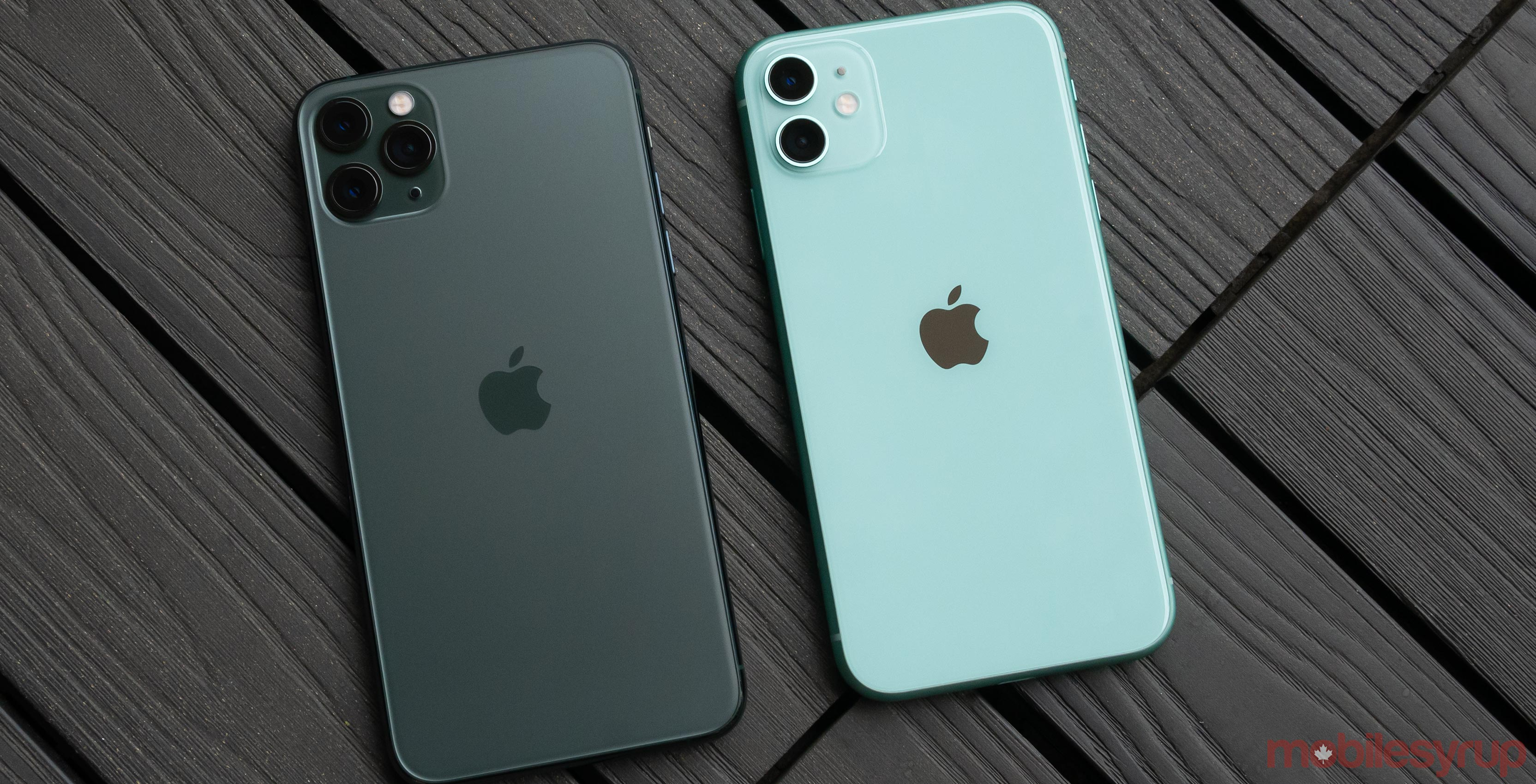 iPhone 11 Pro Max and iPhone 11