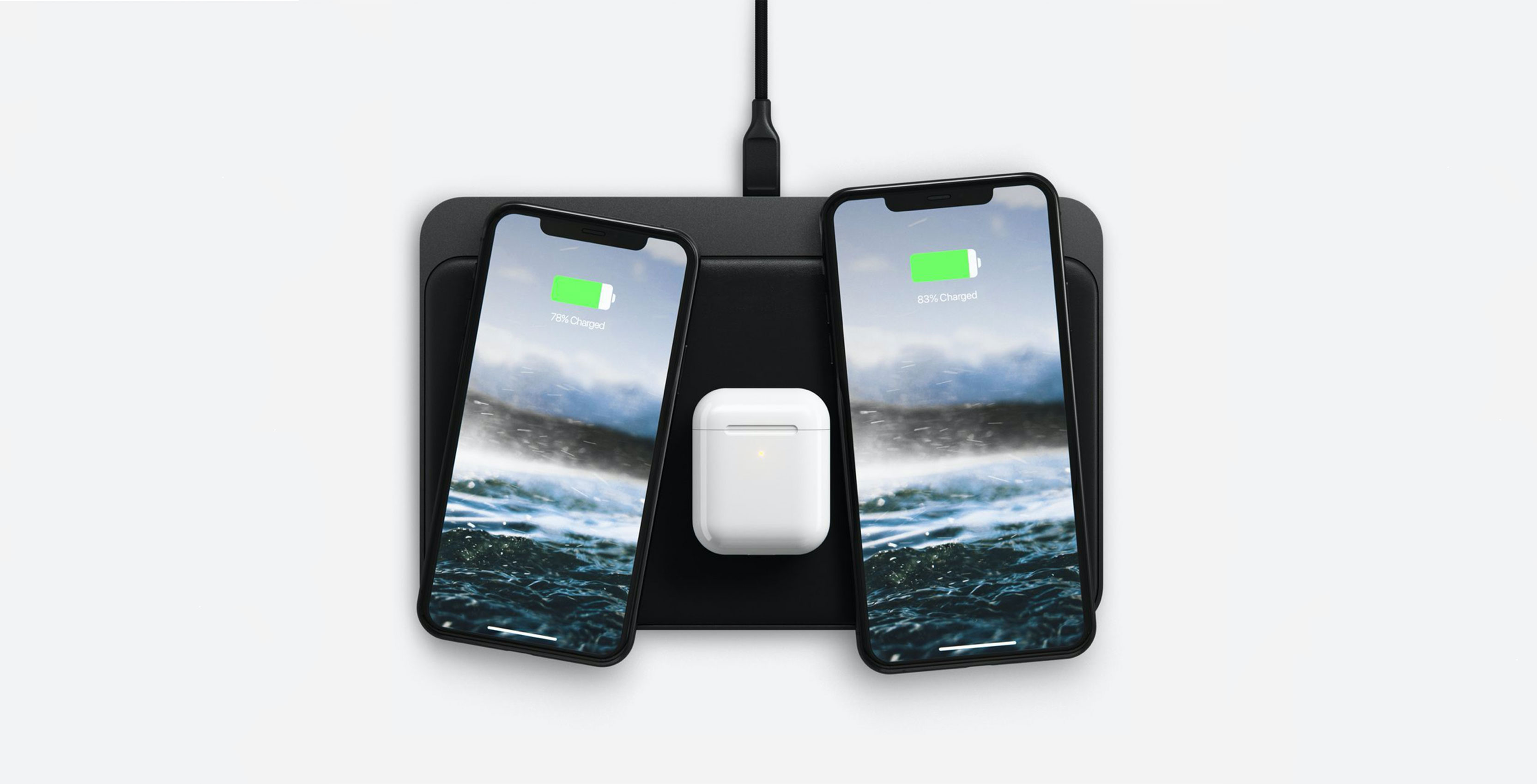 In the shadow of AirPower, Nomad teases wireless charger that charges three devices at once