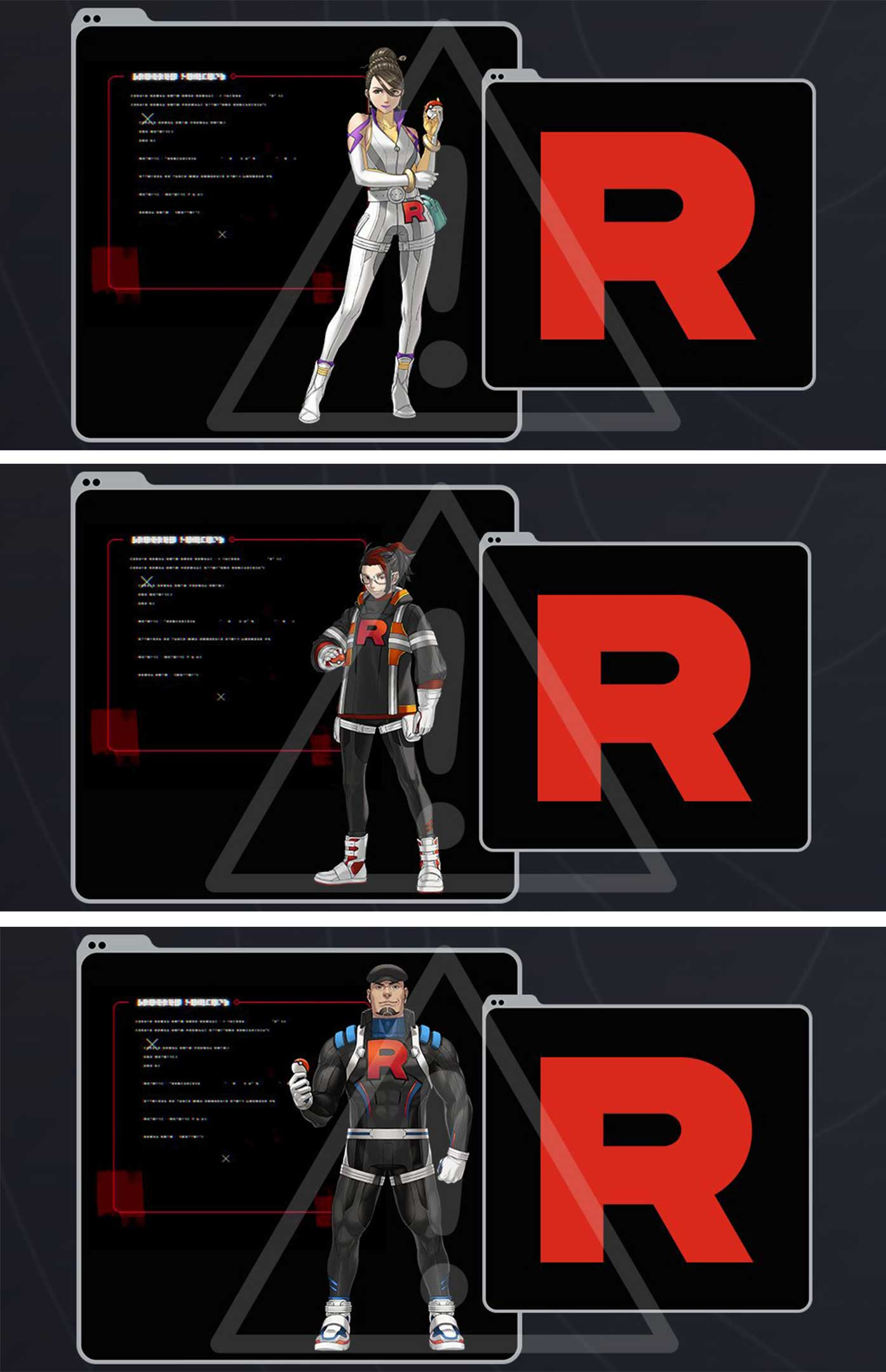 Three new Team Rocket villains are coming to Pokémon Go