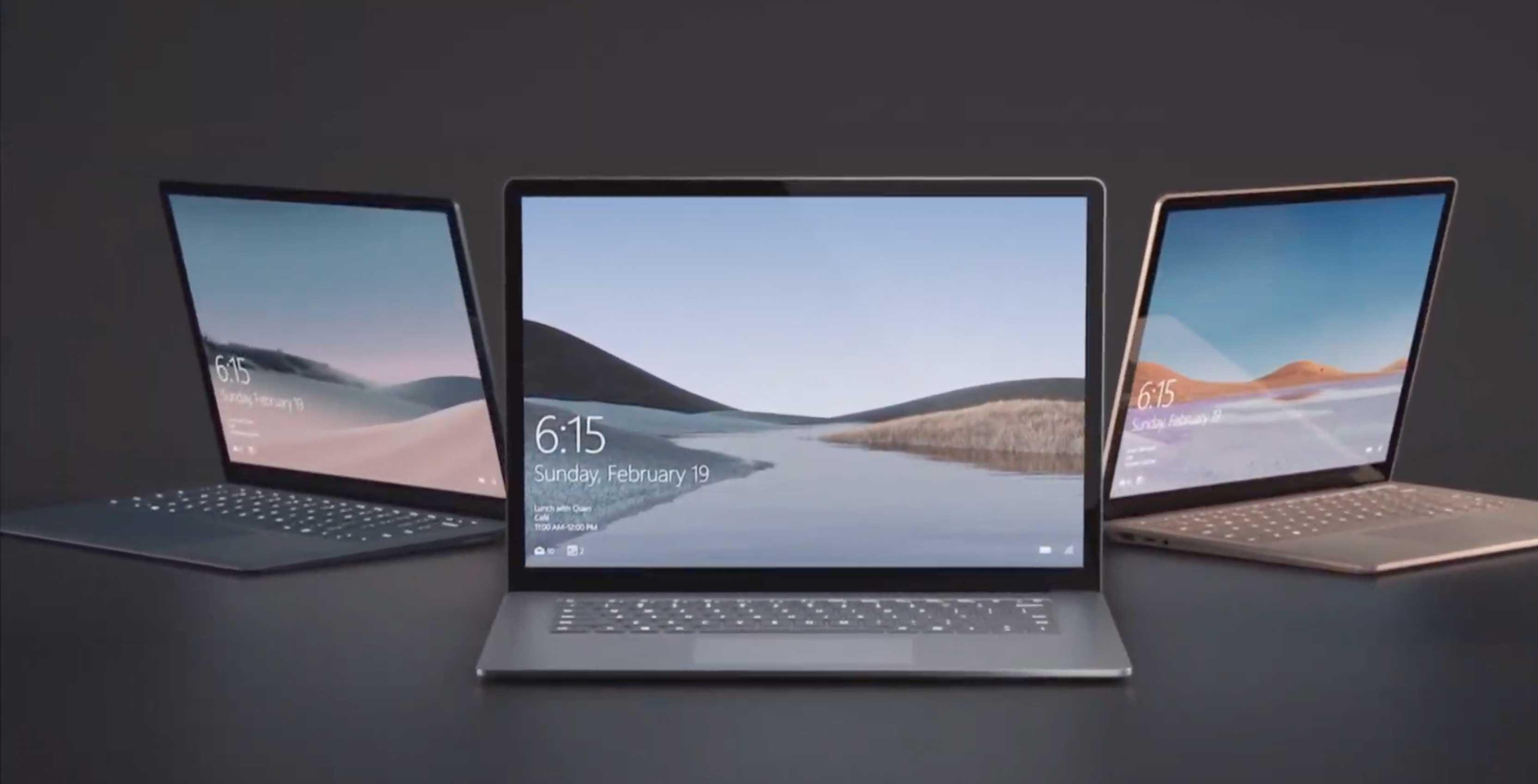 الحاسوب المحمول Microsoft Surface Laptop 3