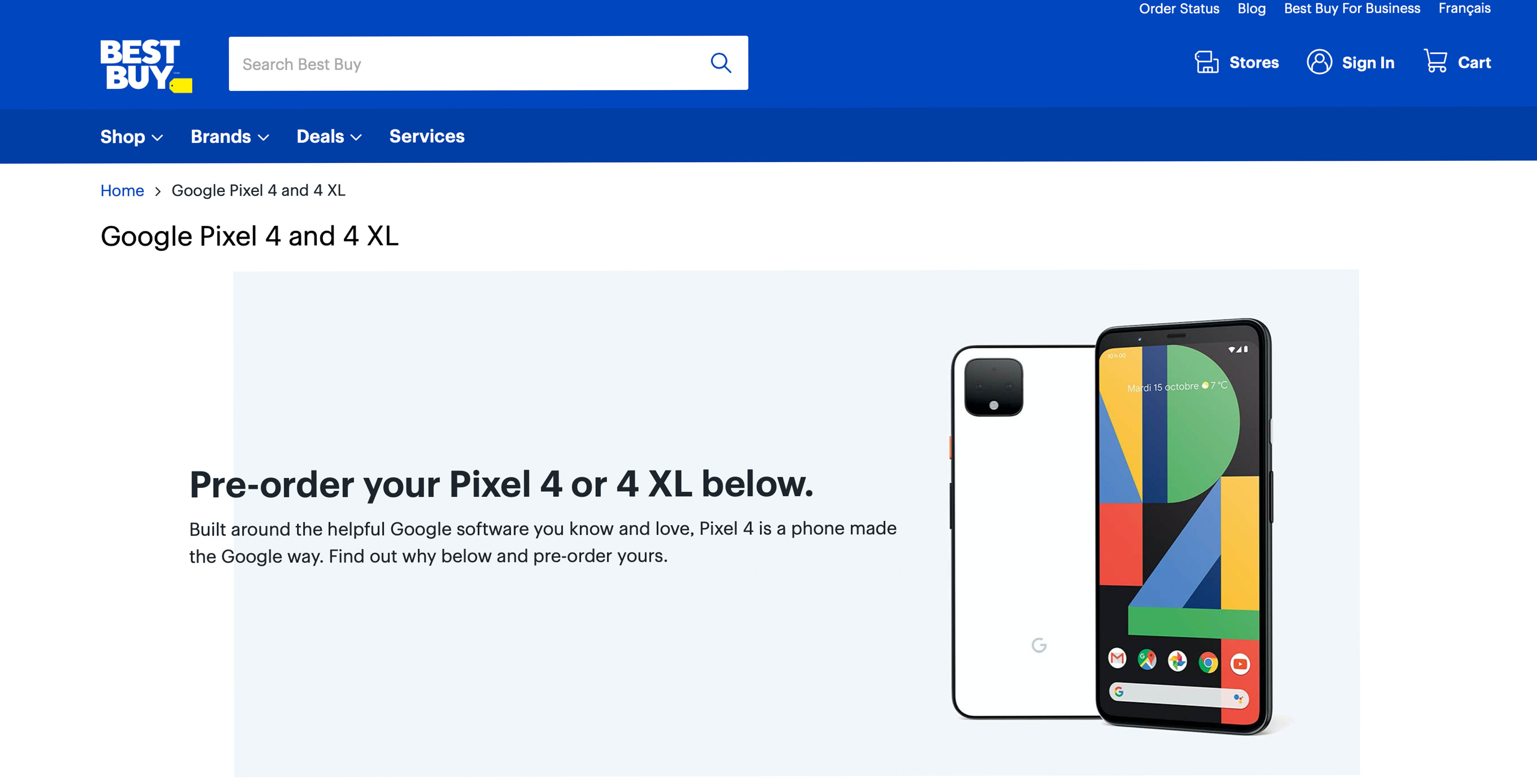 Best Buy Canada Leaks Pixel 4 Specs And Features
