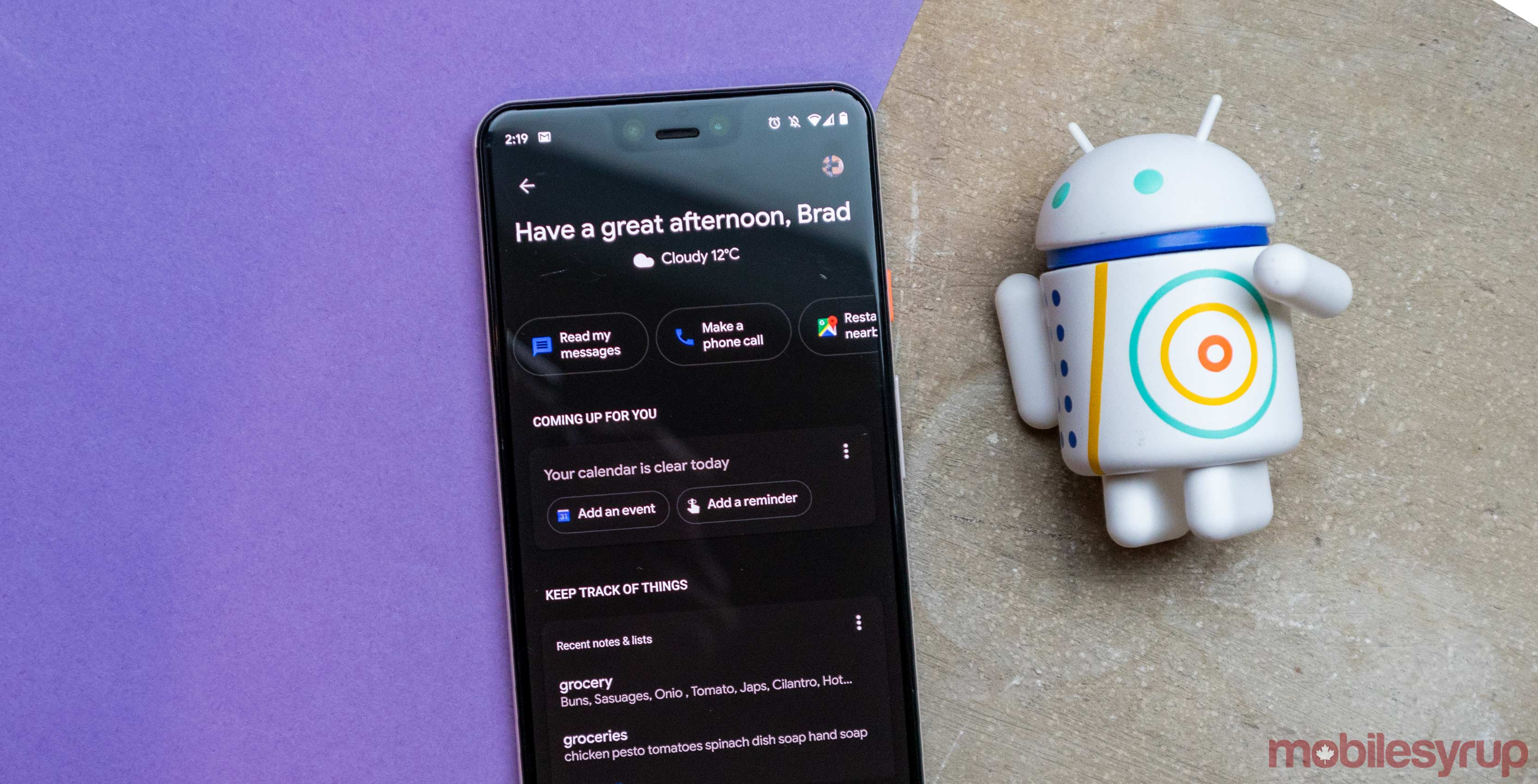 Google Assistant and Google App now support dark mode