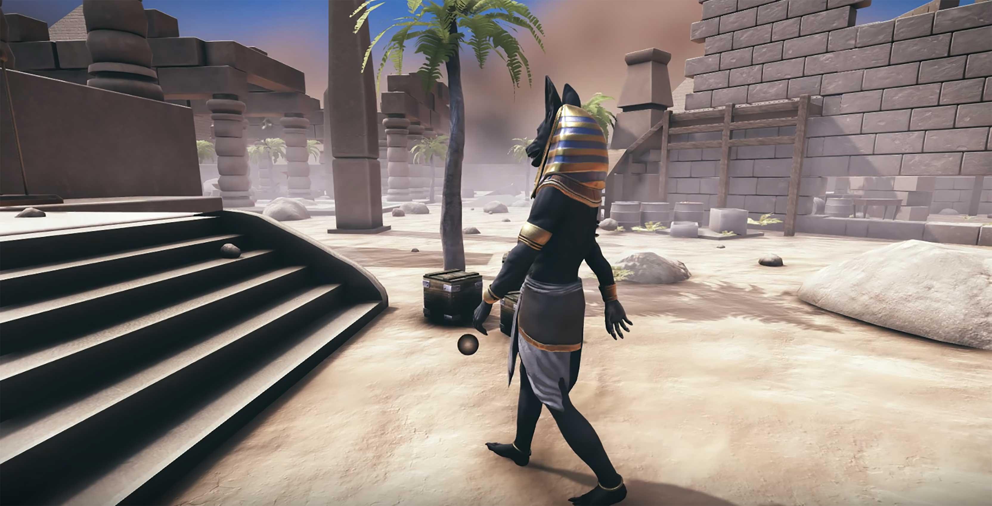 game animation walking