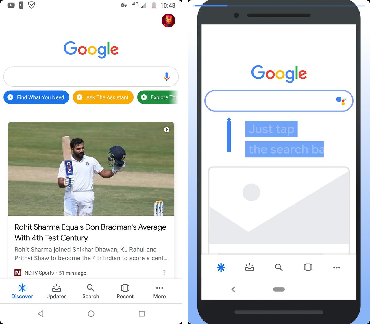Google app video tutorials