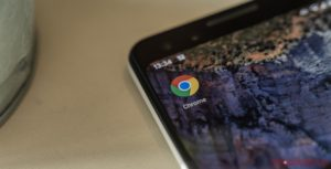 Google Chrome app on Android