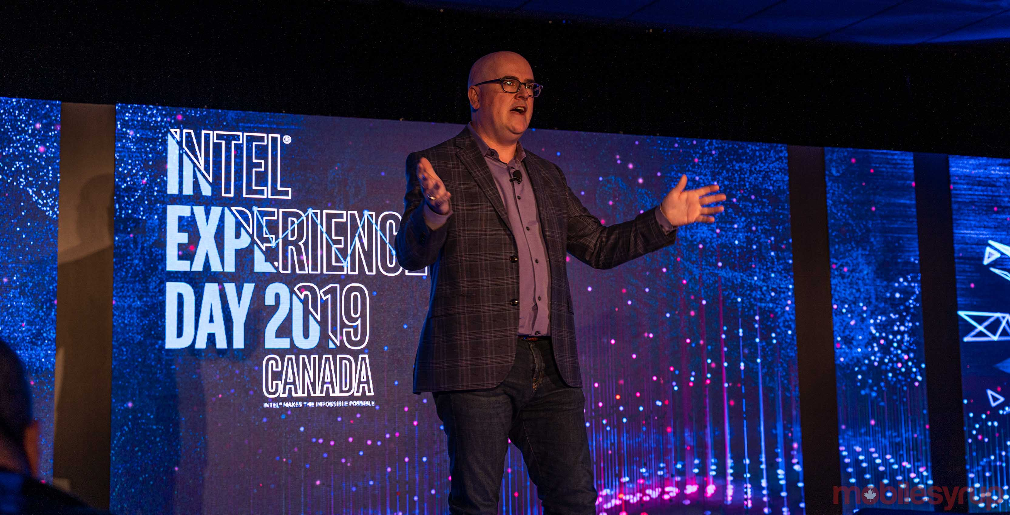 Steve Brown at Intel Experience Day