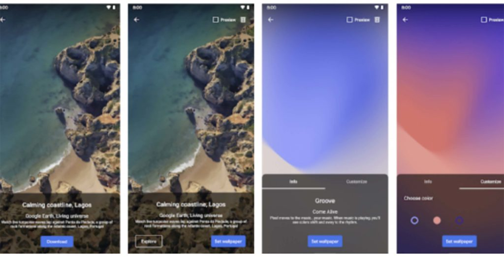 Google S Pixel Live Wallpaper App Launches On The Play Store