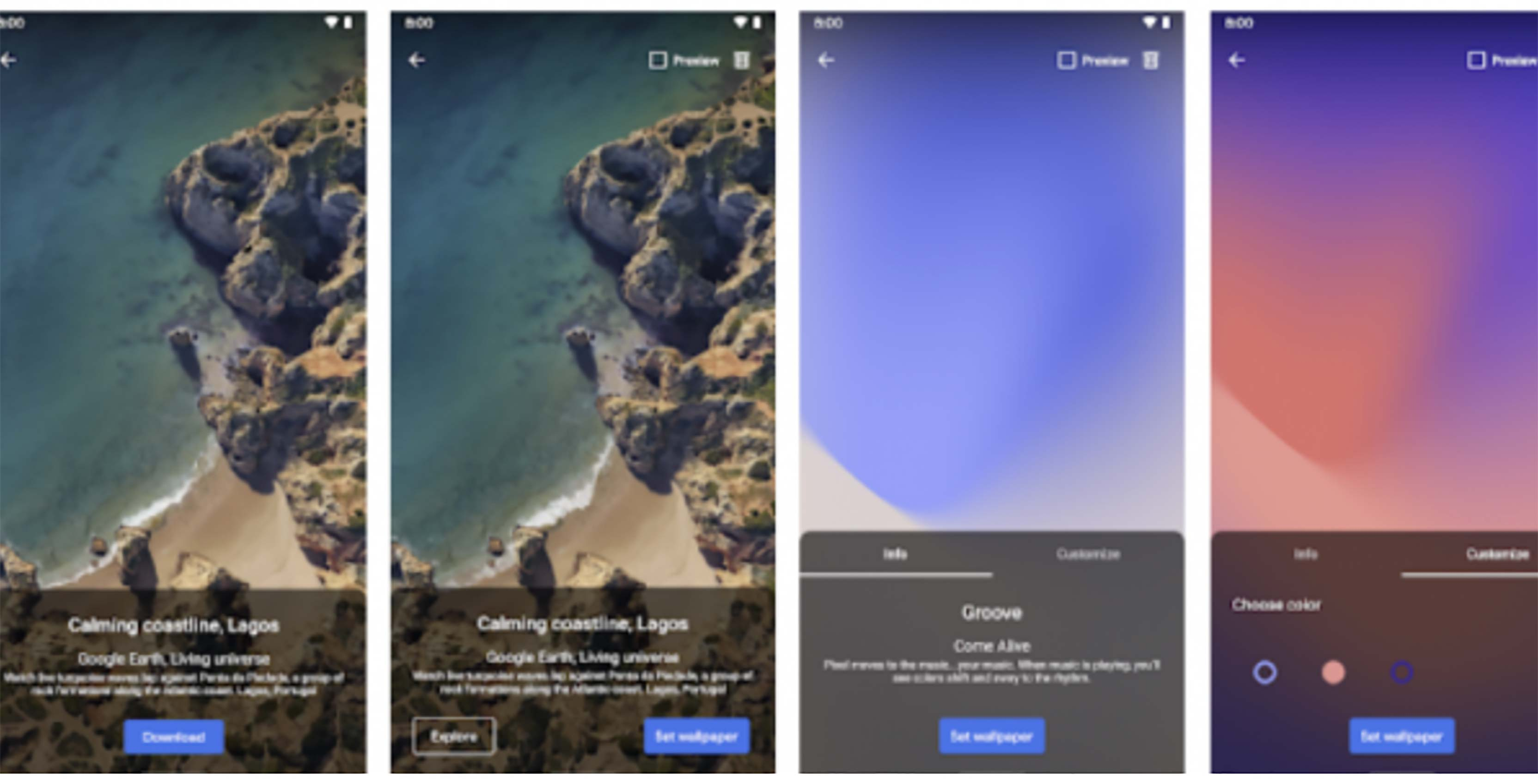 Googles Pixel Live Wallpaper App Launches On The Play Store