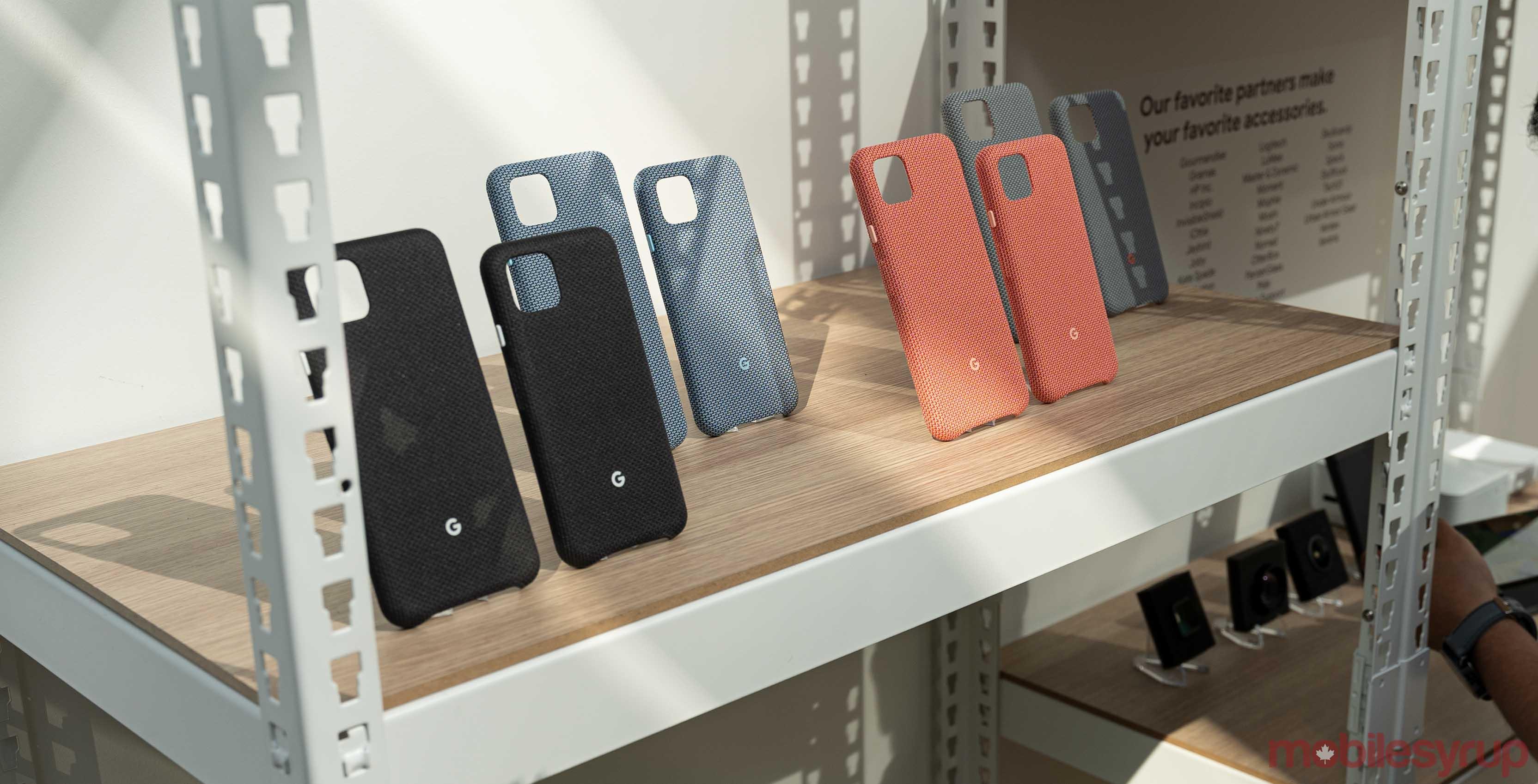 Pixel 4 fabric cases