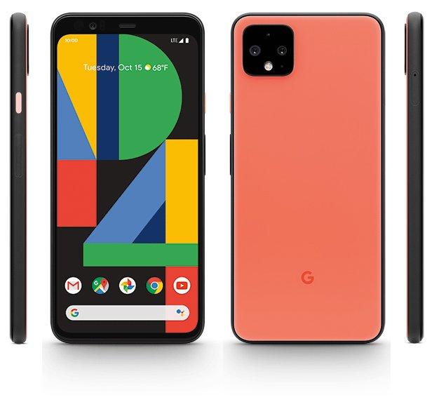 Google orange pixel 4