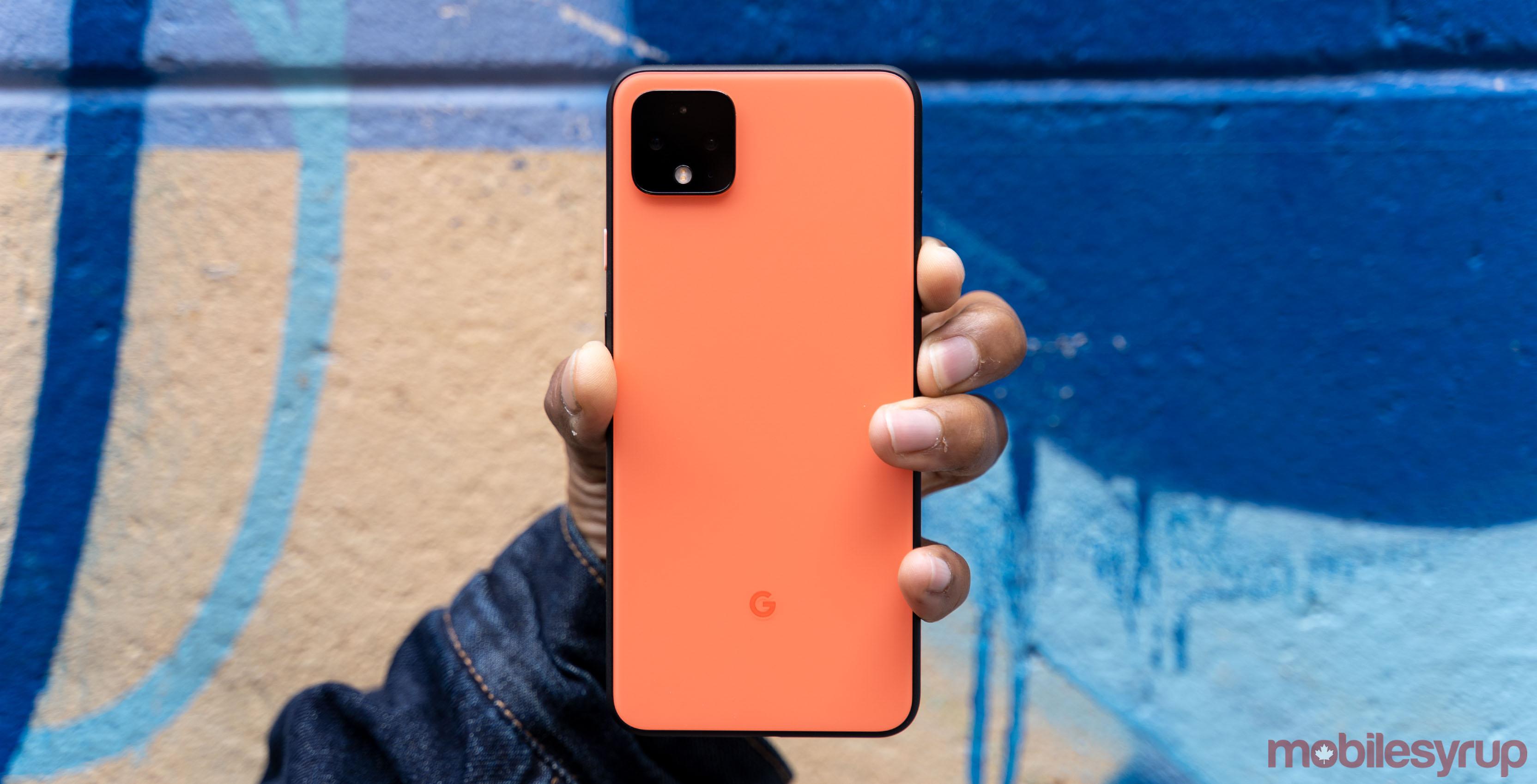 pixel 4 orange header 1
